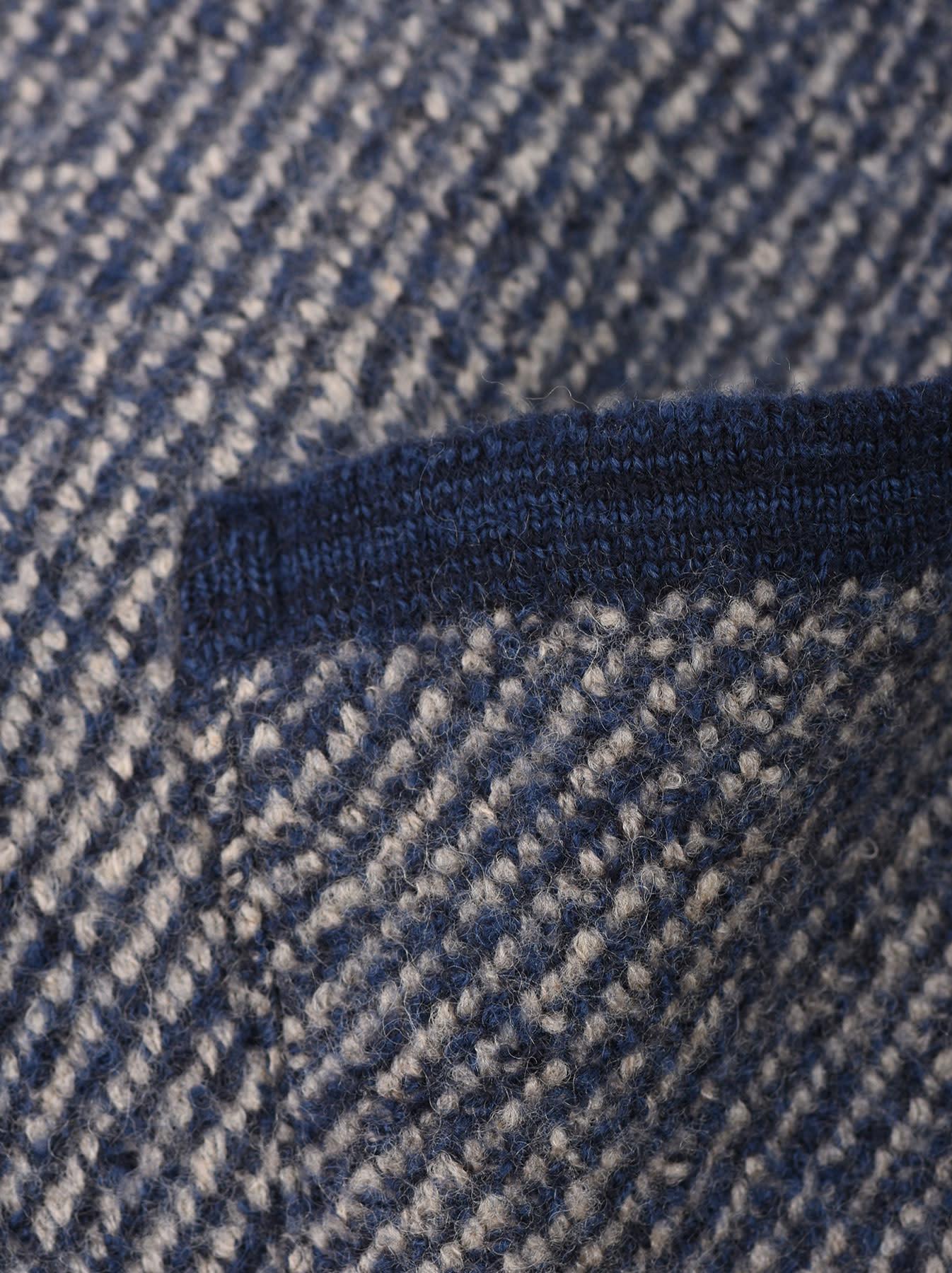 Denim Tweed Knit Jacket-9