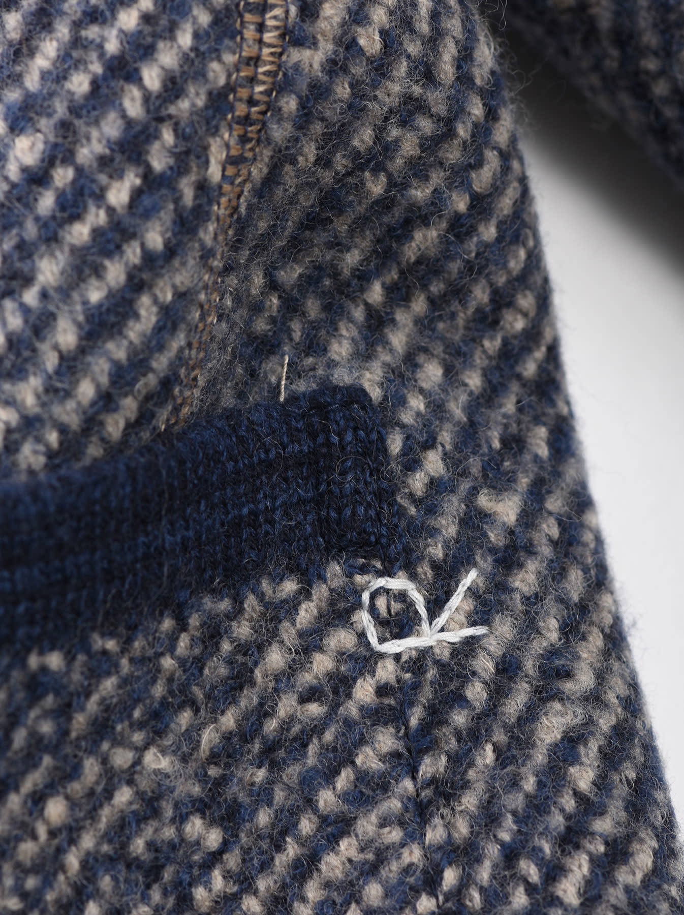 Denim Tweed Knit Jacket-10