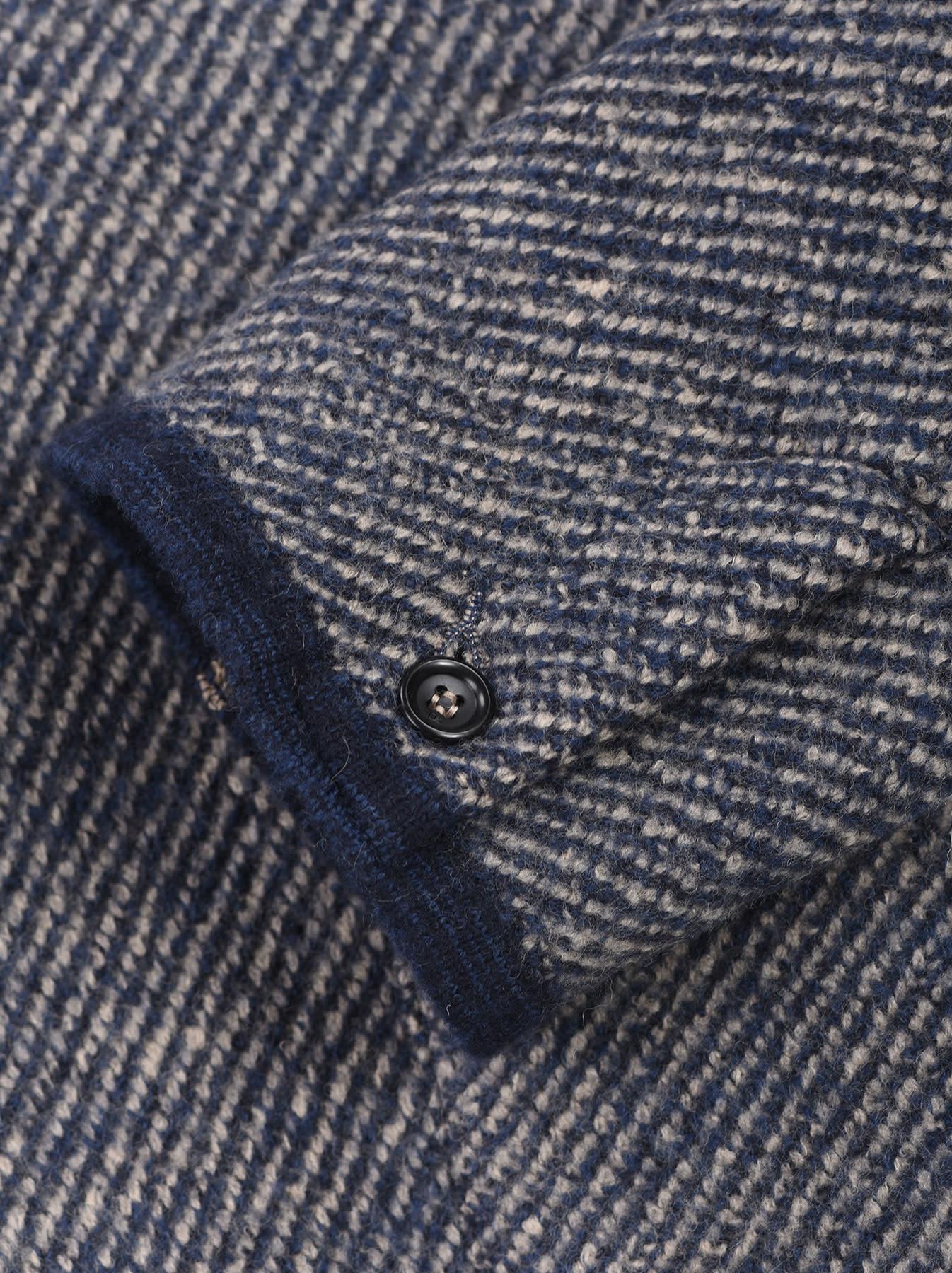 Denim Tweed Knit Jacket-11