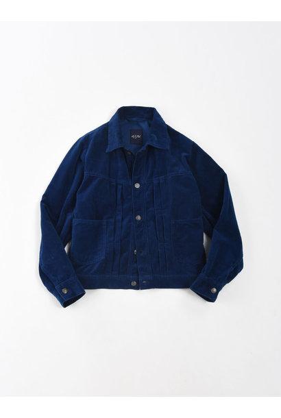Indigo Velveteen 908 Denim Jacket
