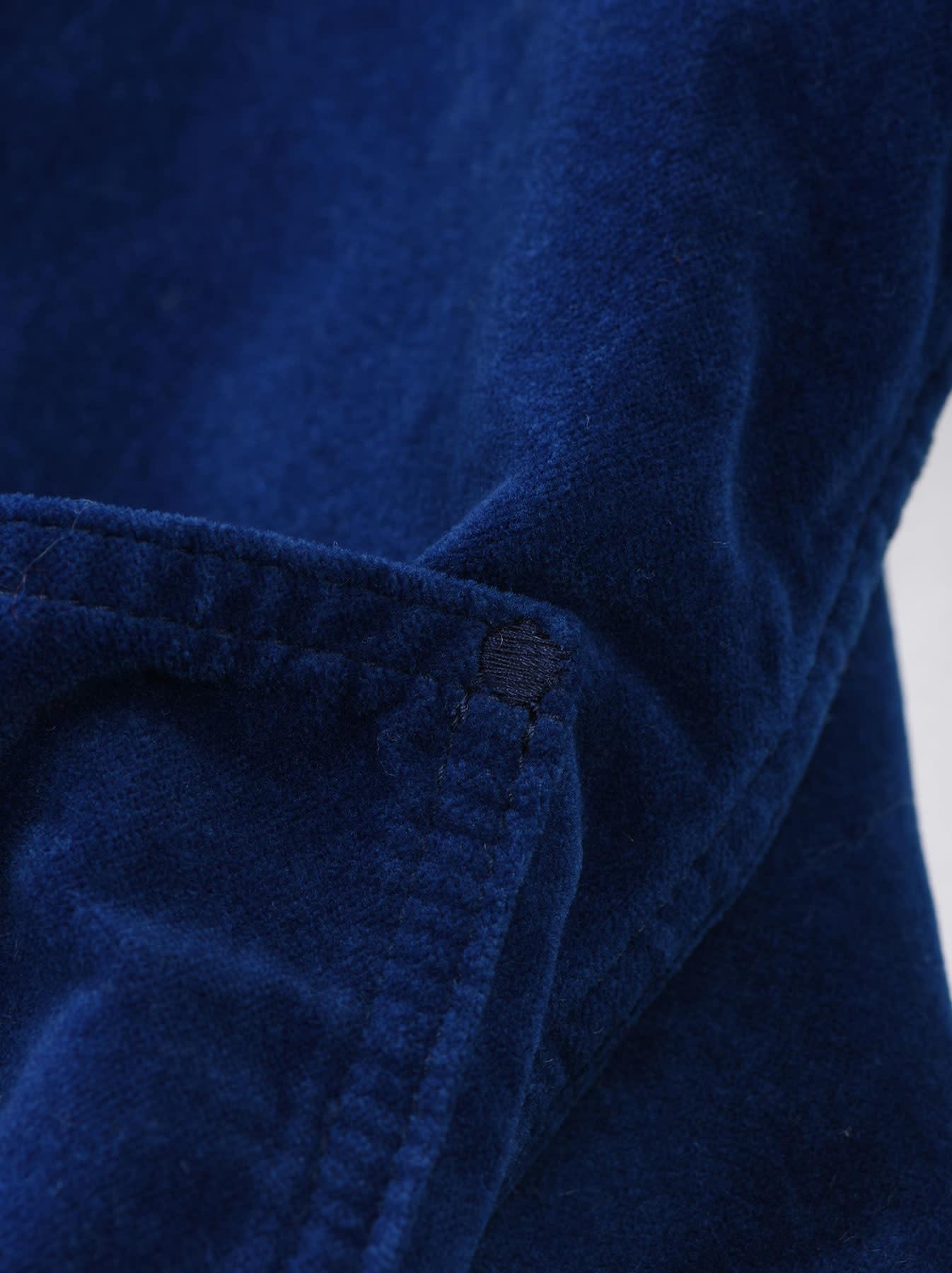 Indigo Velveteen 908 Denim Jacket-6