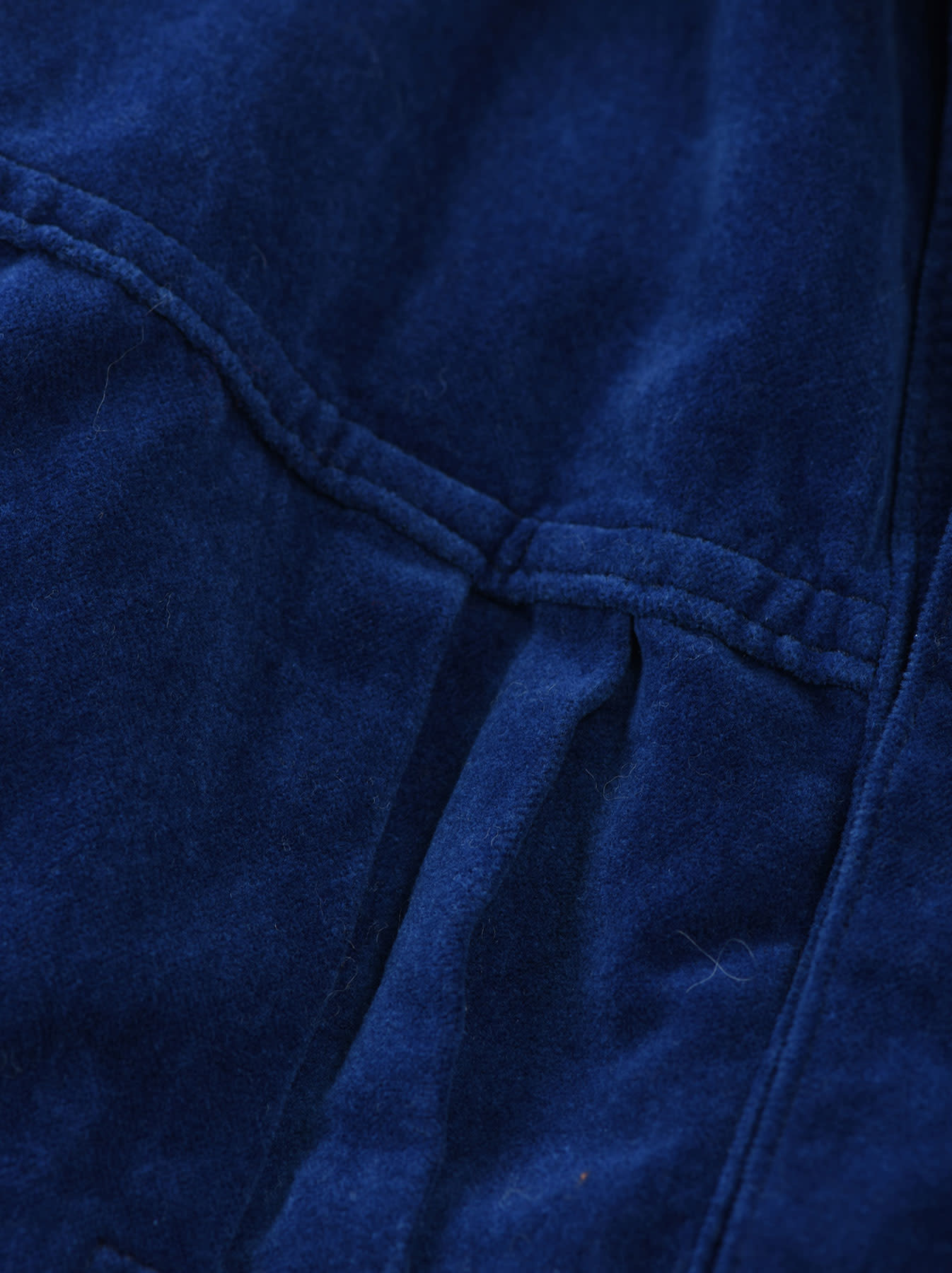 Indigo Velveteen 908 Denim Jacket-8