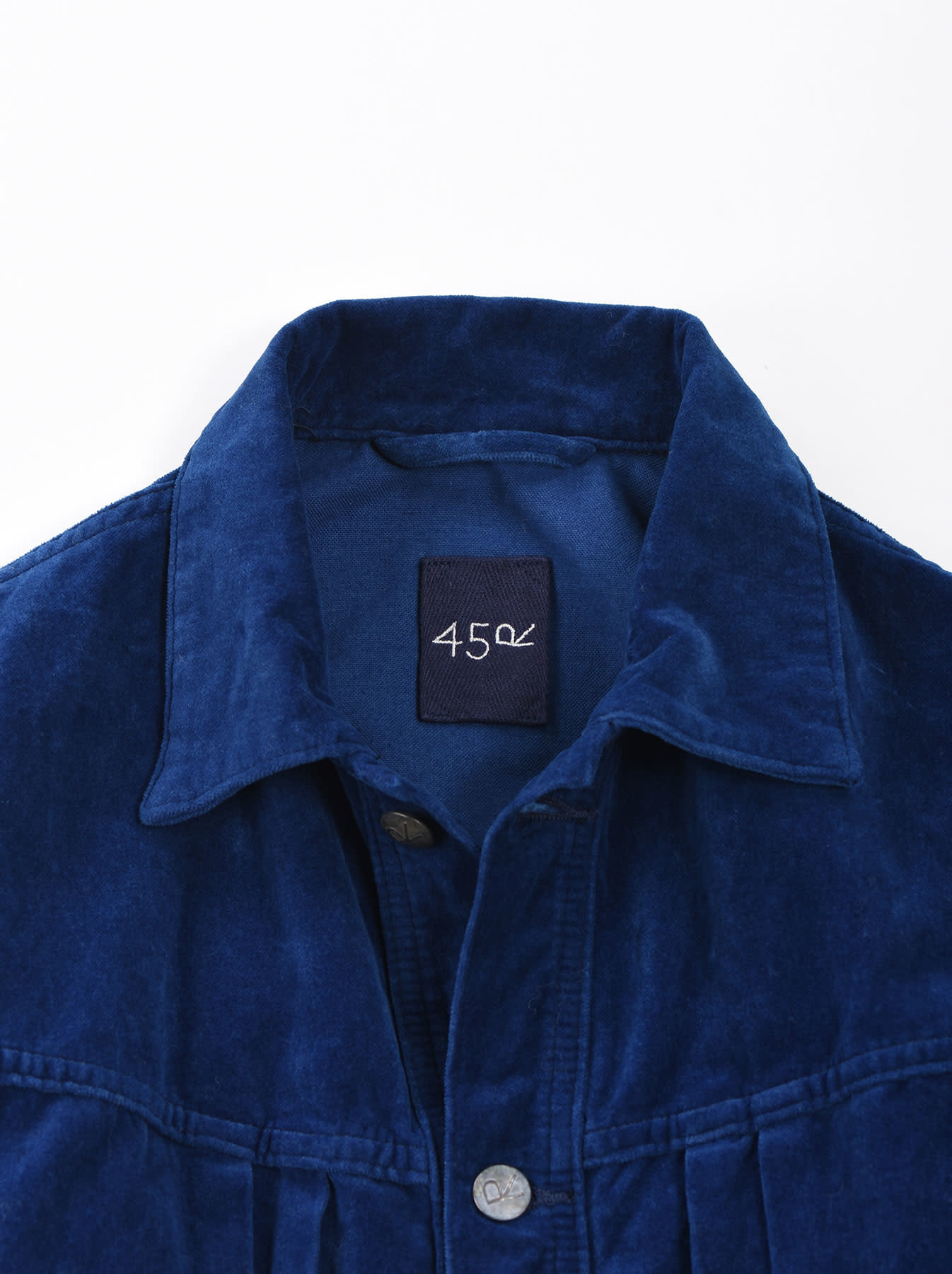 Indigo Velveteen 908 Denim Jacket-9