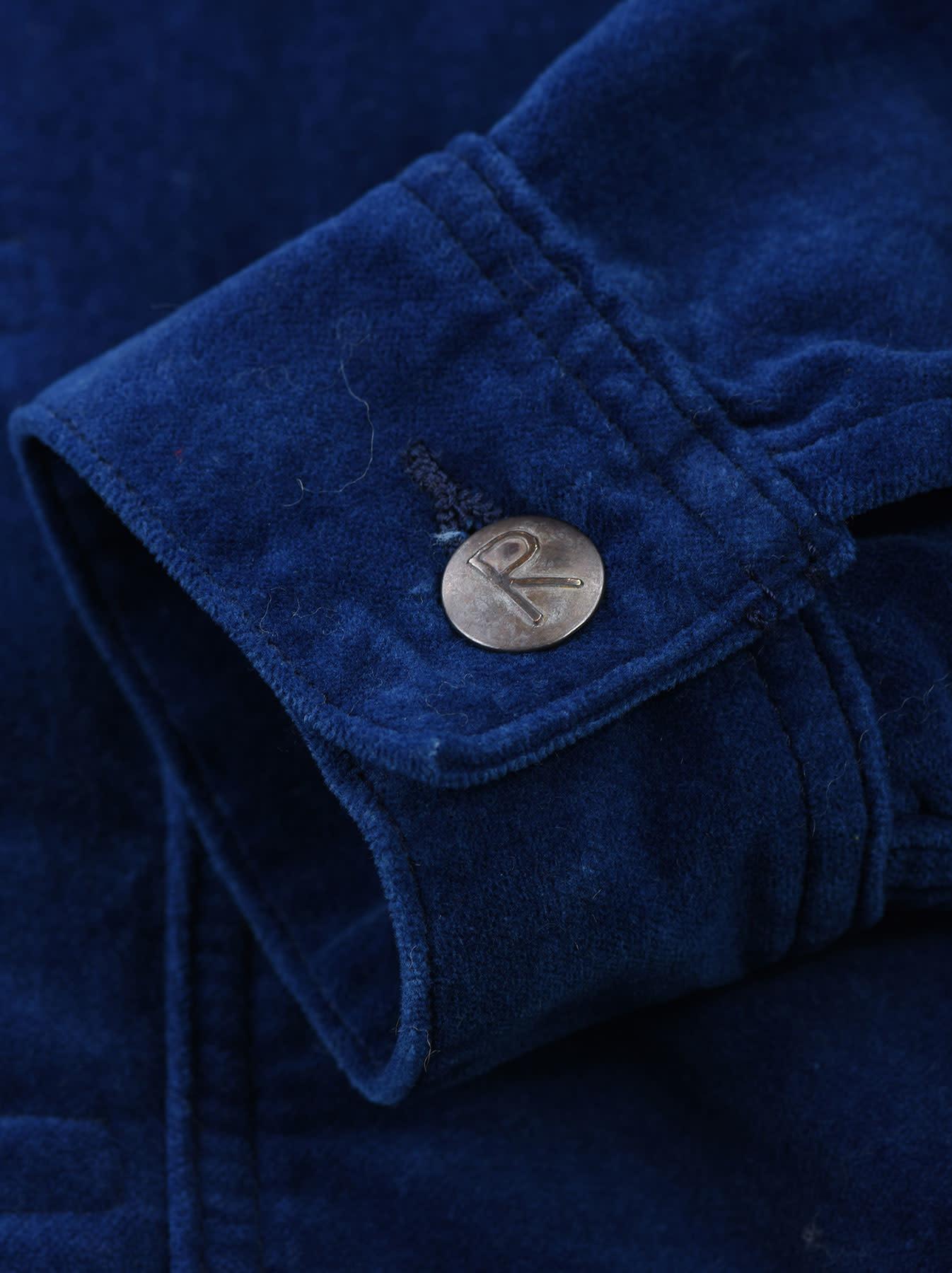 Indigo Velveteen 908 Denim Jacket-10
