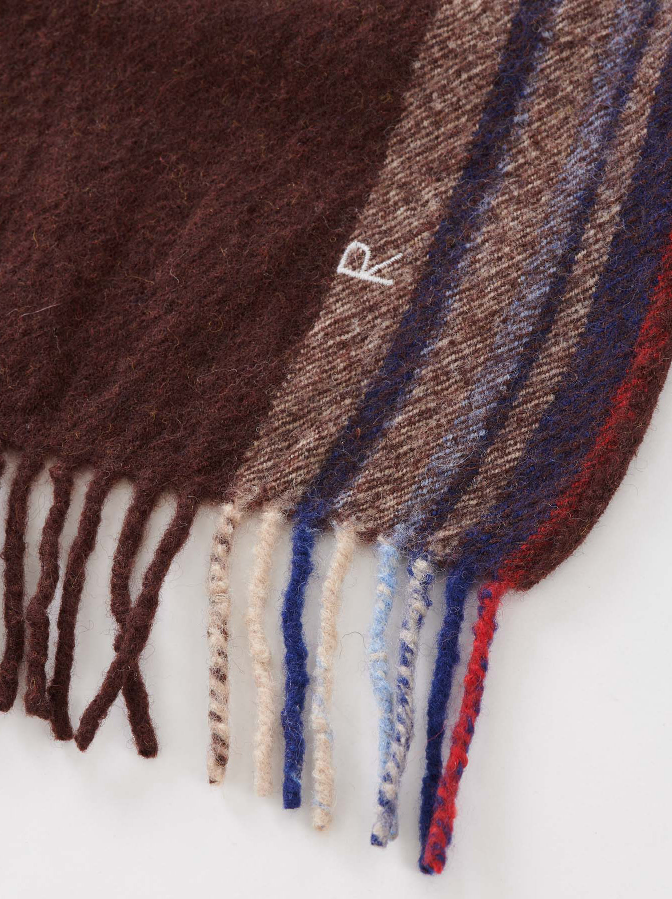 Arles Boiled Wool Stole-8
