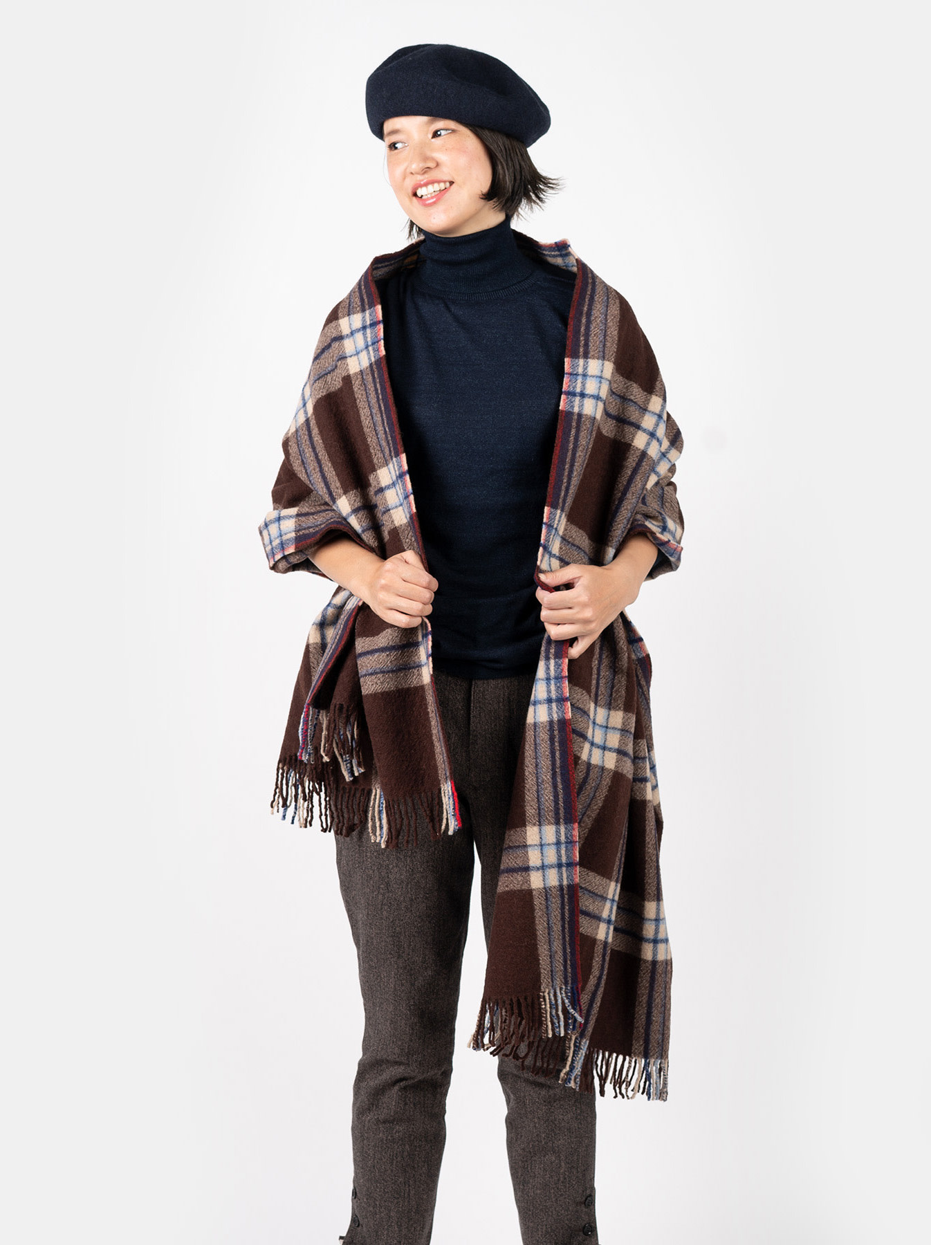 Arles Boiled Wool Stole-2