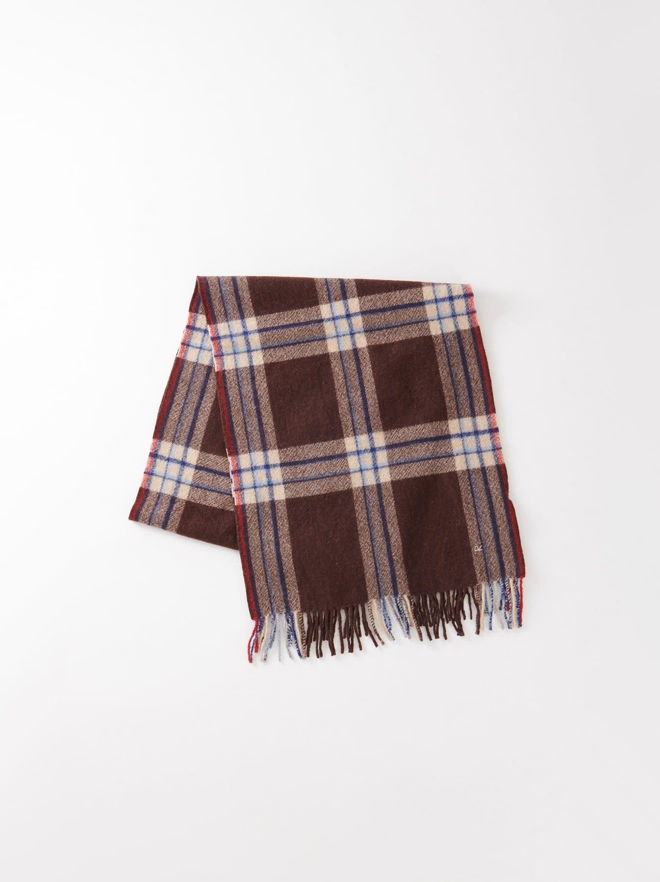 Arles Boiled Wool Muffler-2