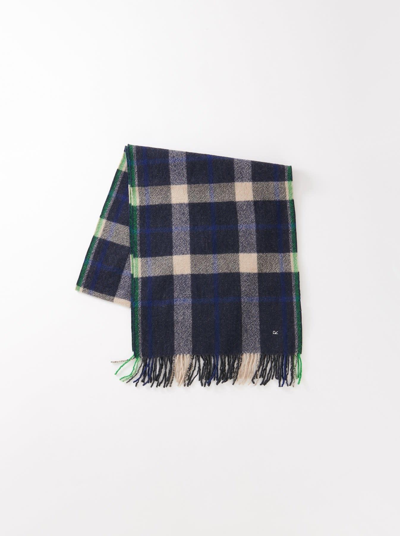Arles Boiled Wool Muffler-3