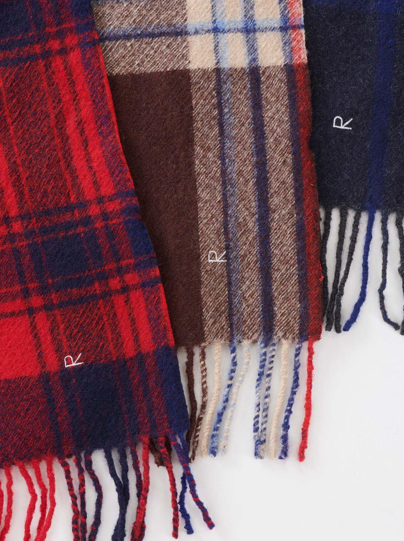 Arles Boiled Wool Muffler-4
