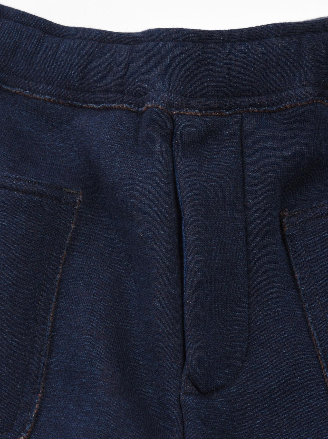 Indigo Hokkaido Fleecy Easy Pants-6