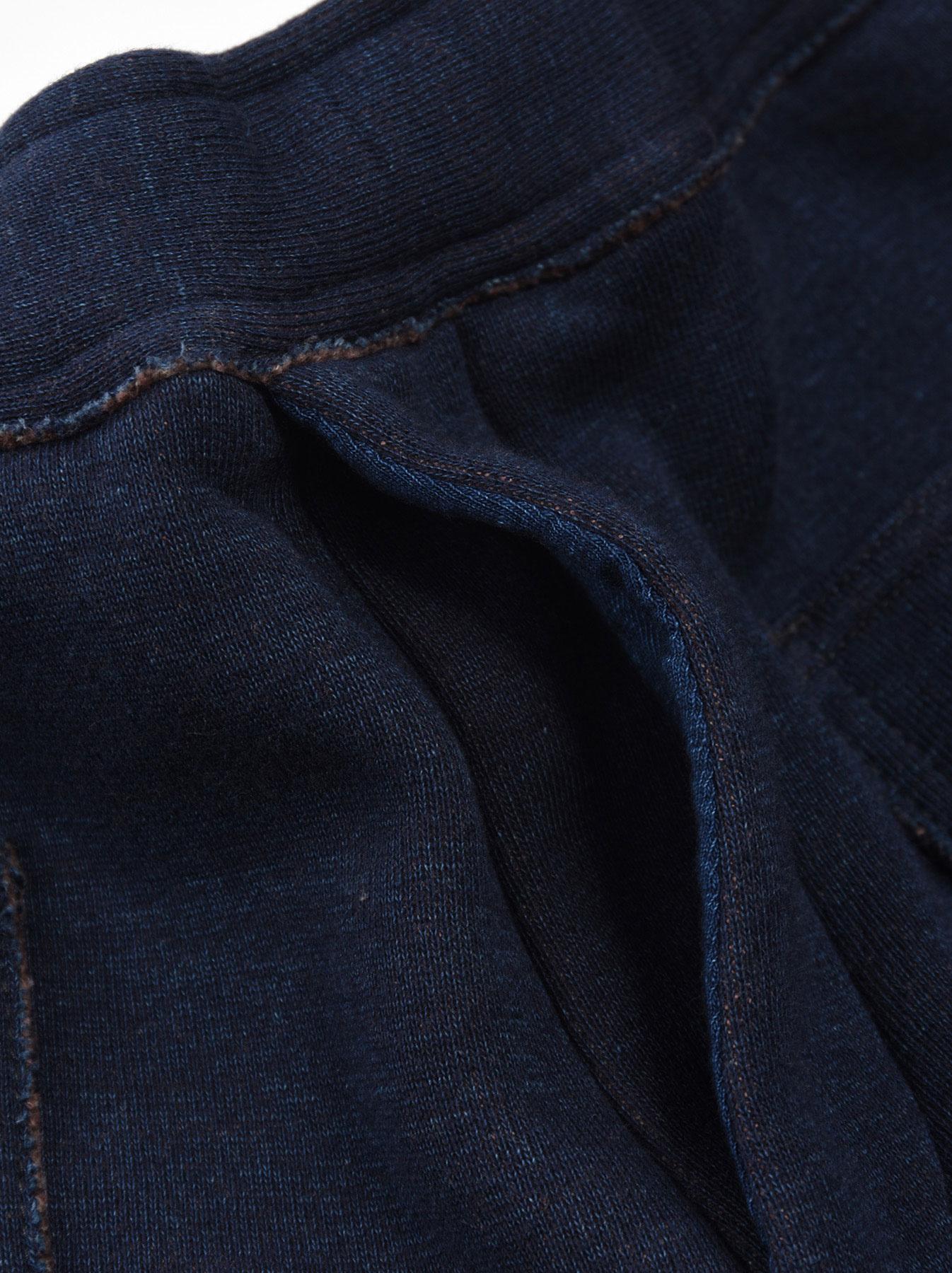 Indigo Hokkaido Fleecy Easy Pants-7