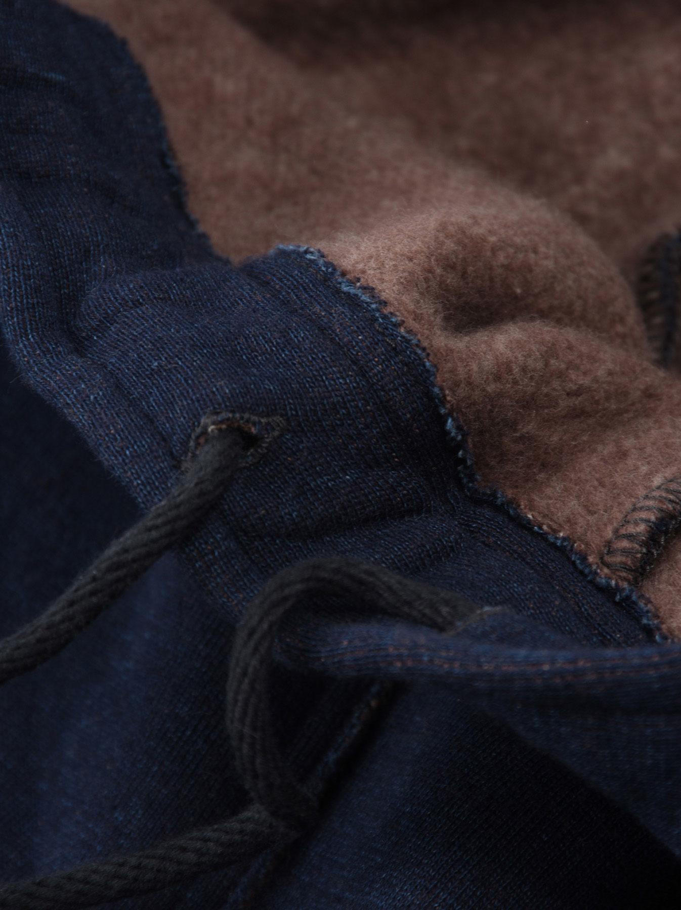 Indigo Hokkaido Fleecy Easy Pants-10
