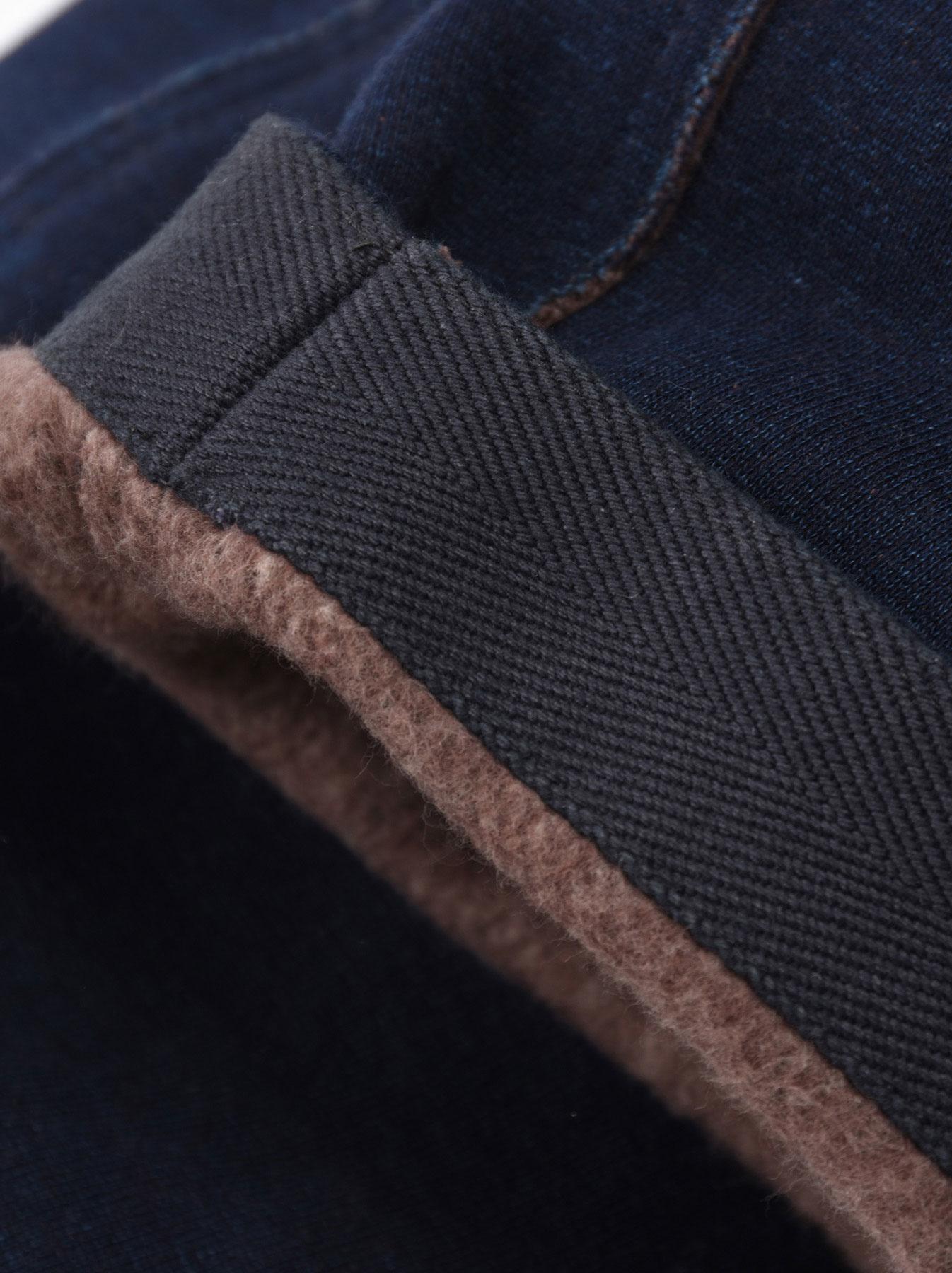 Indigo Hokkaido Fleecy Easy Pants-11