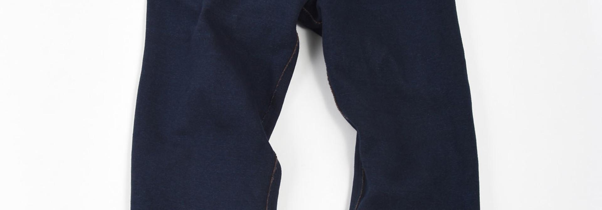 Indigo Hokkaido Fleecy Easy Pants