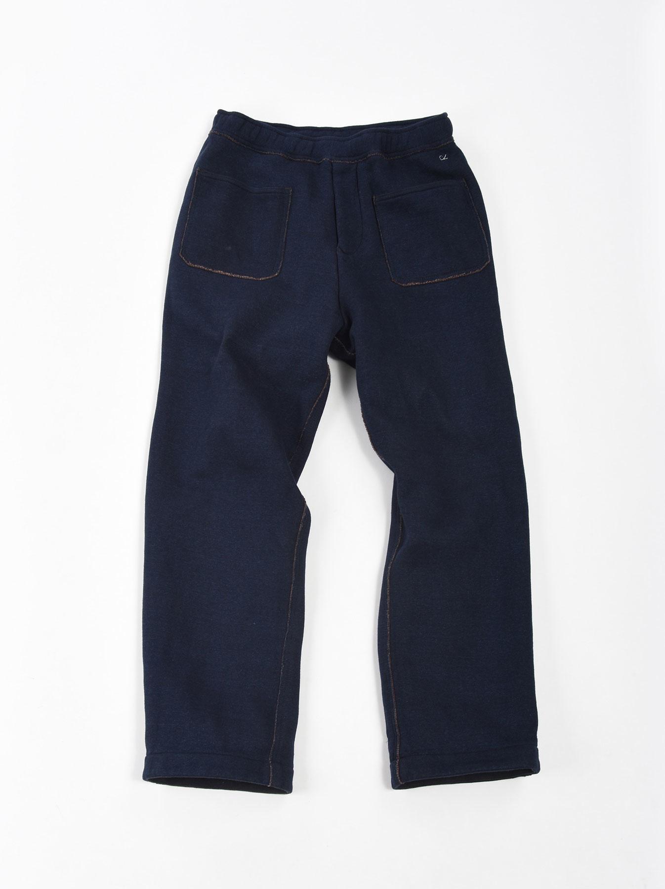 Indigo Hokkaido Fleecy Easy Pants-1