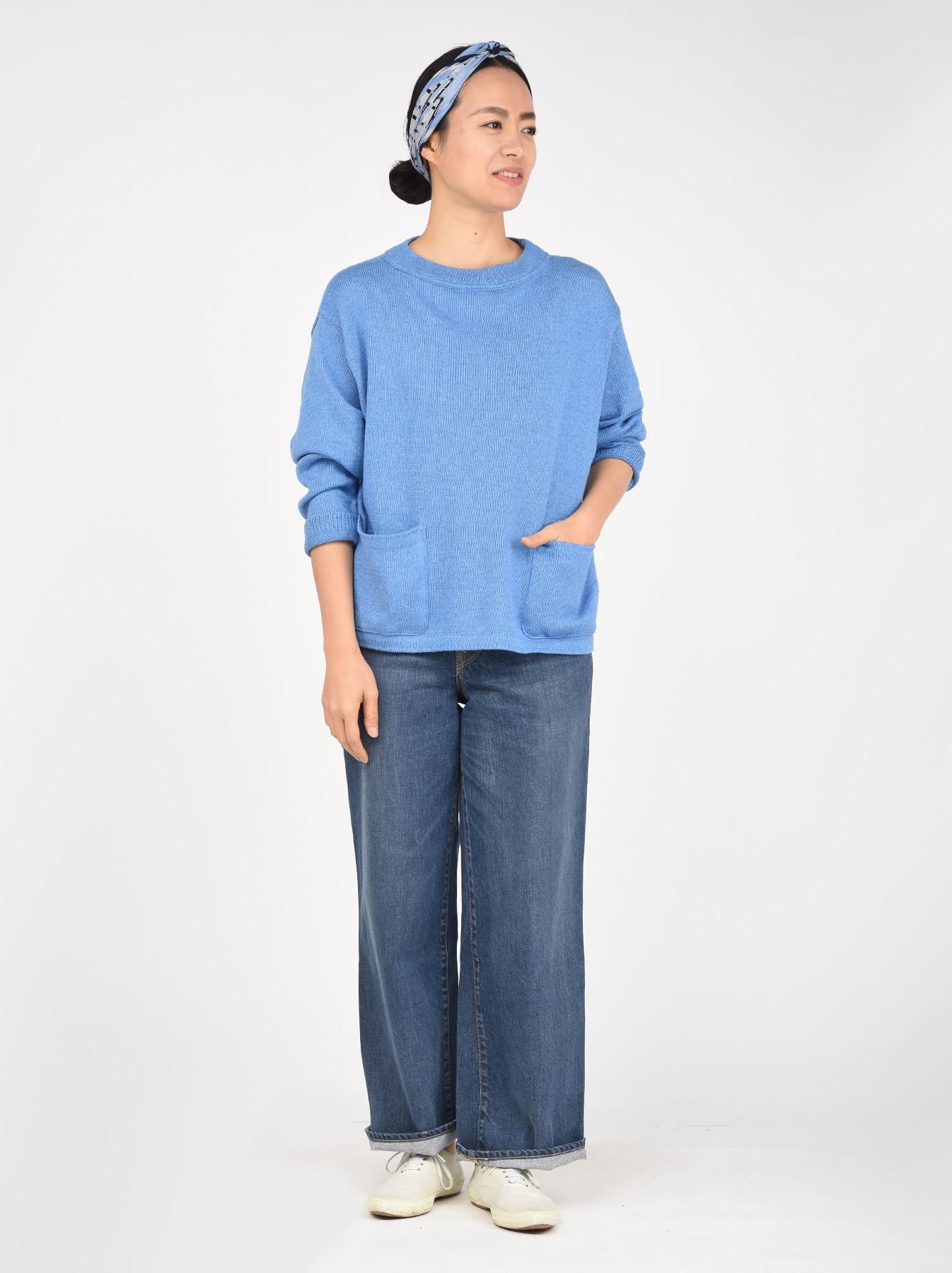 Zimbabwe Cotton Knit-sew 908 Uma Sweater-2