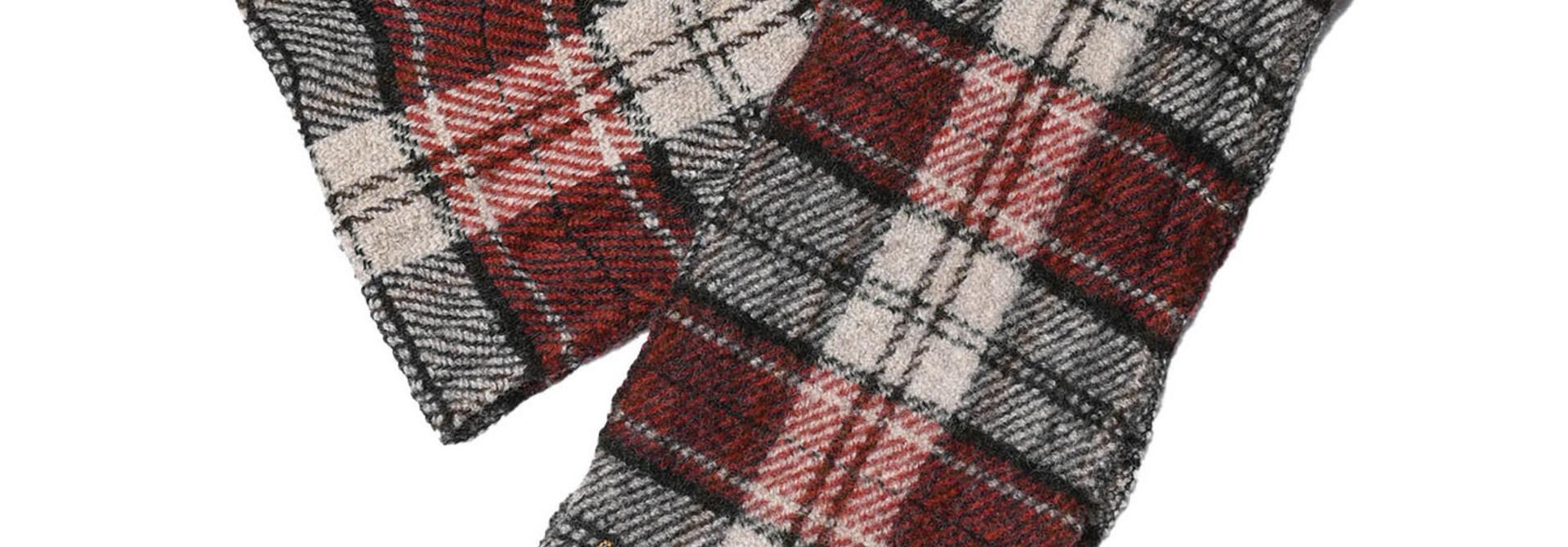 Shetland Tartan Check Muffler