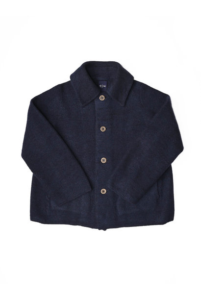 Boiled Wool Knit Coverall