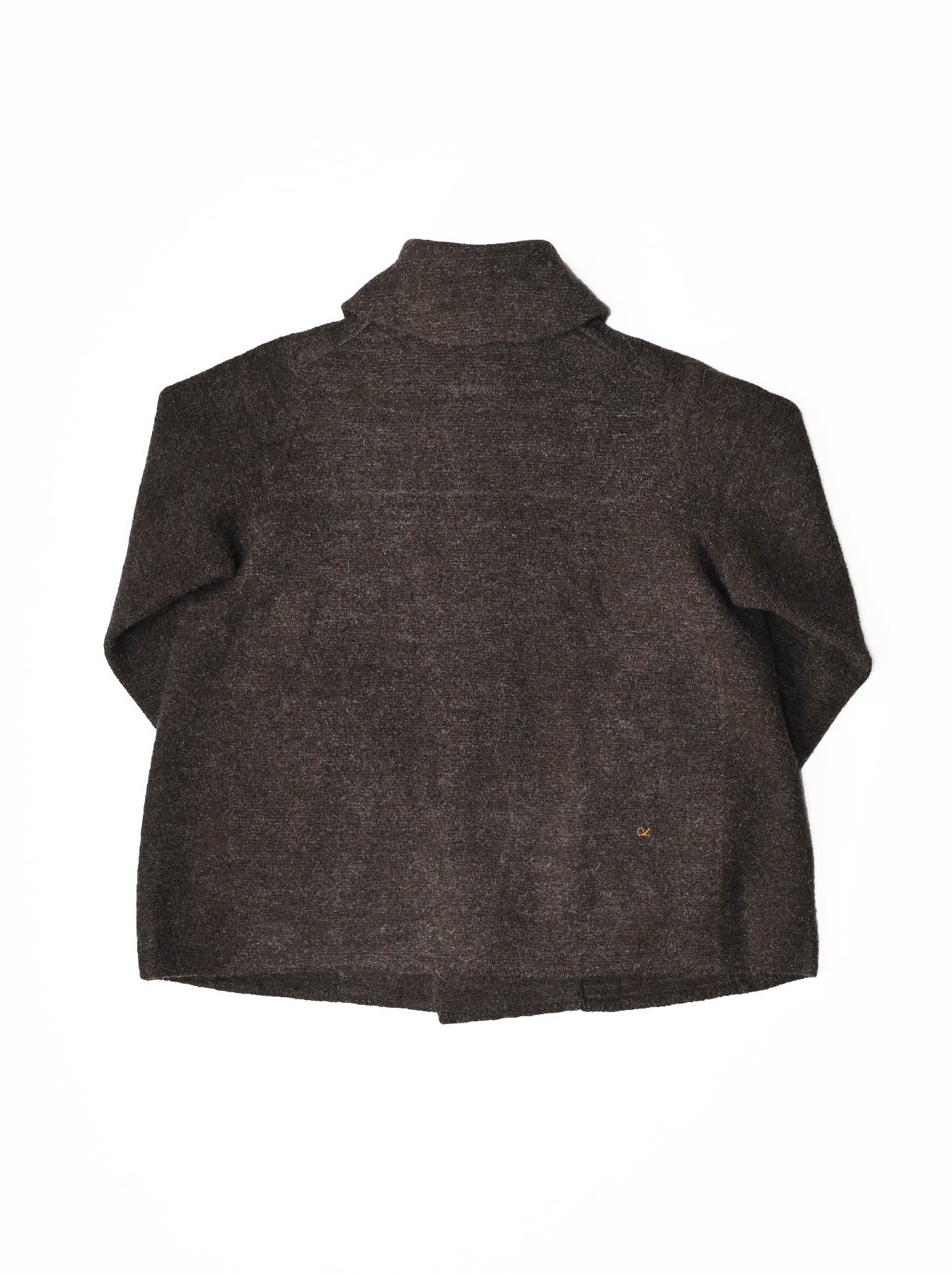 Boiled Wool Knit Coverall-4