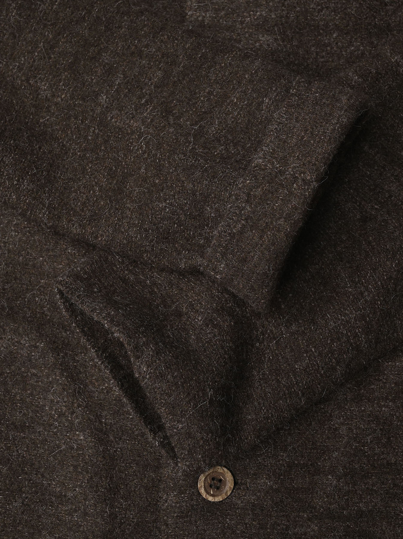 Boiled Wool Knit Coverall-7