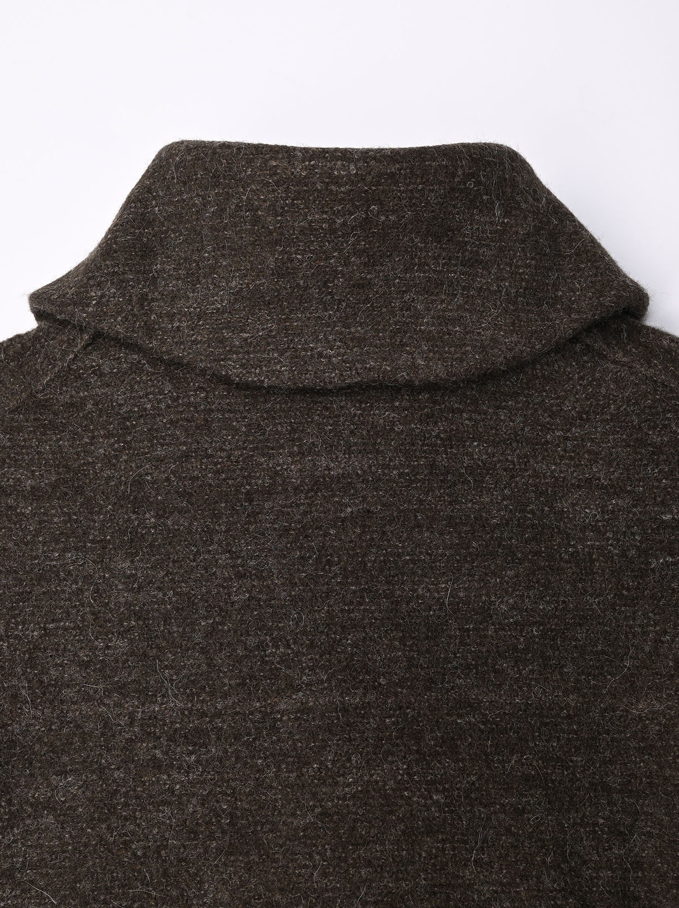 Boiled Wool Knit Coverall-8