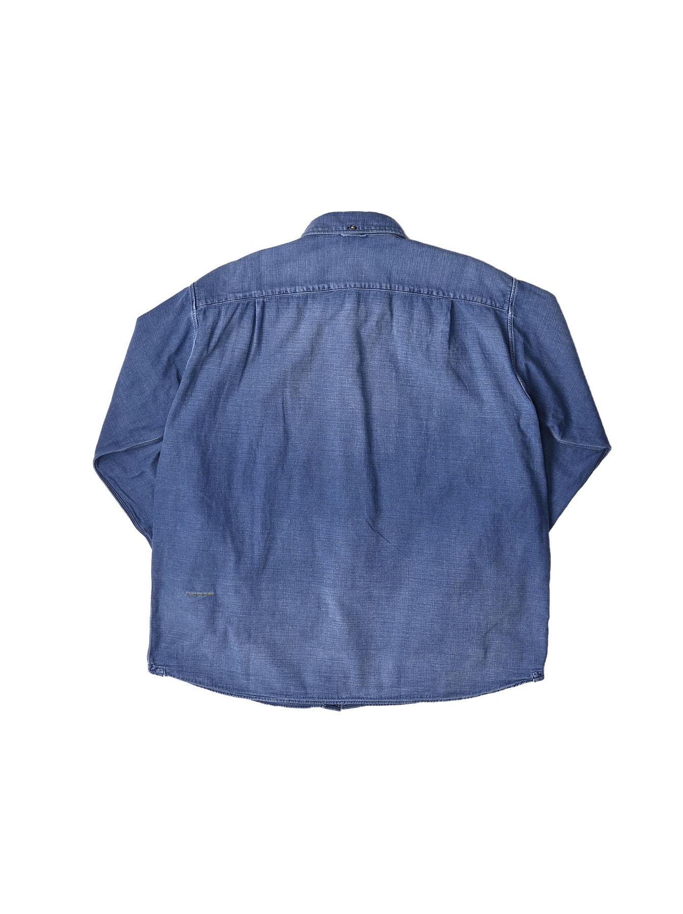 Goma Denim Ocean Button Down Shirt-3