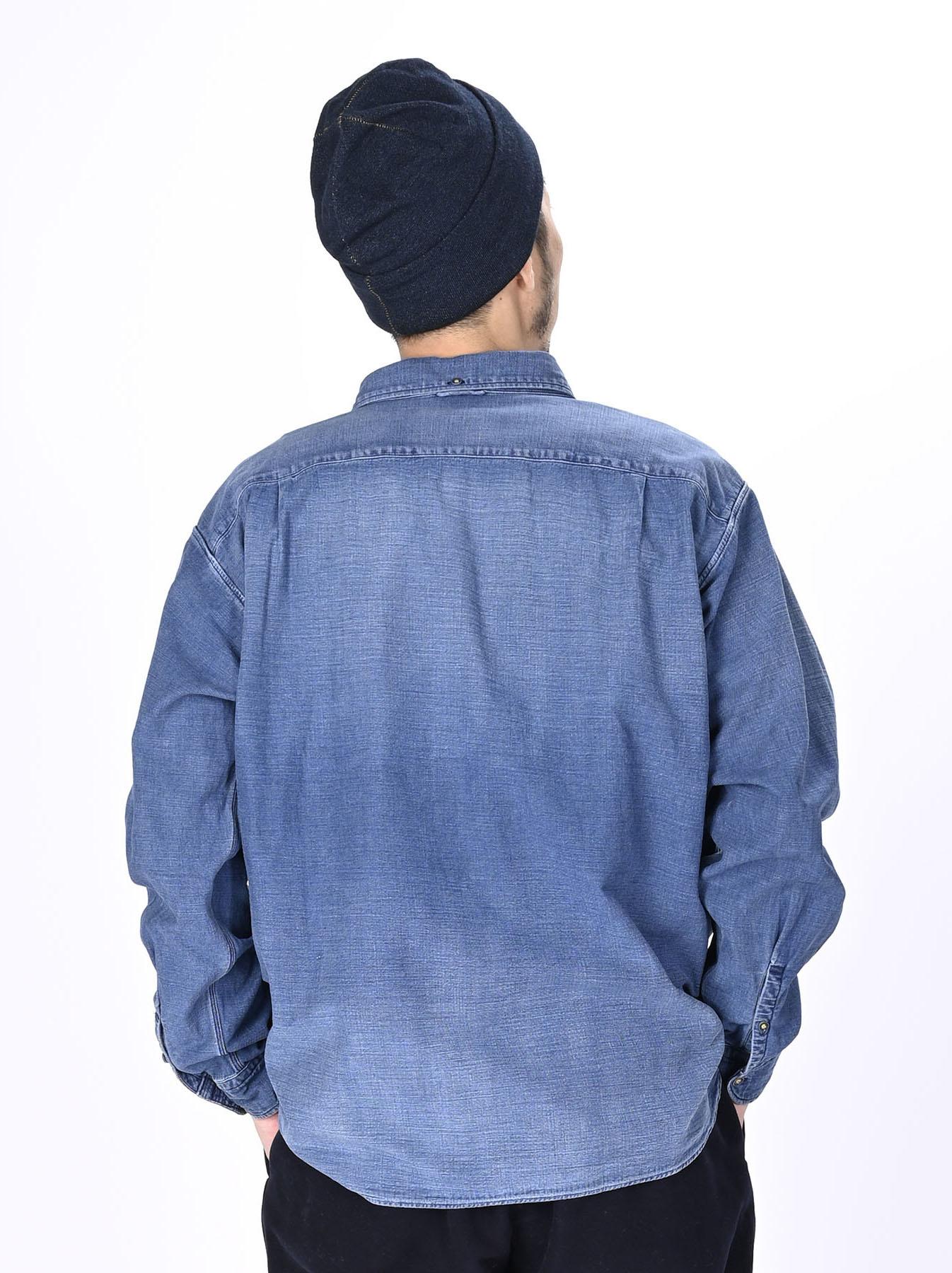 Goma Denim Ocean Button Down Shirt-6