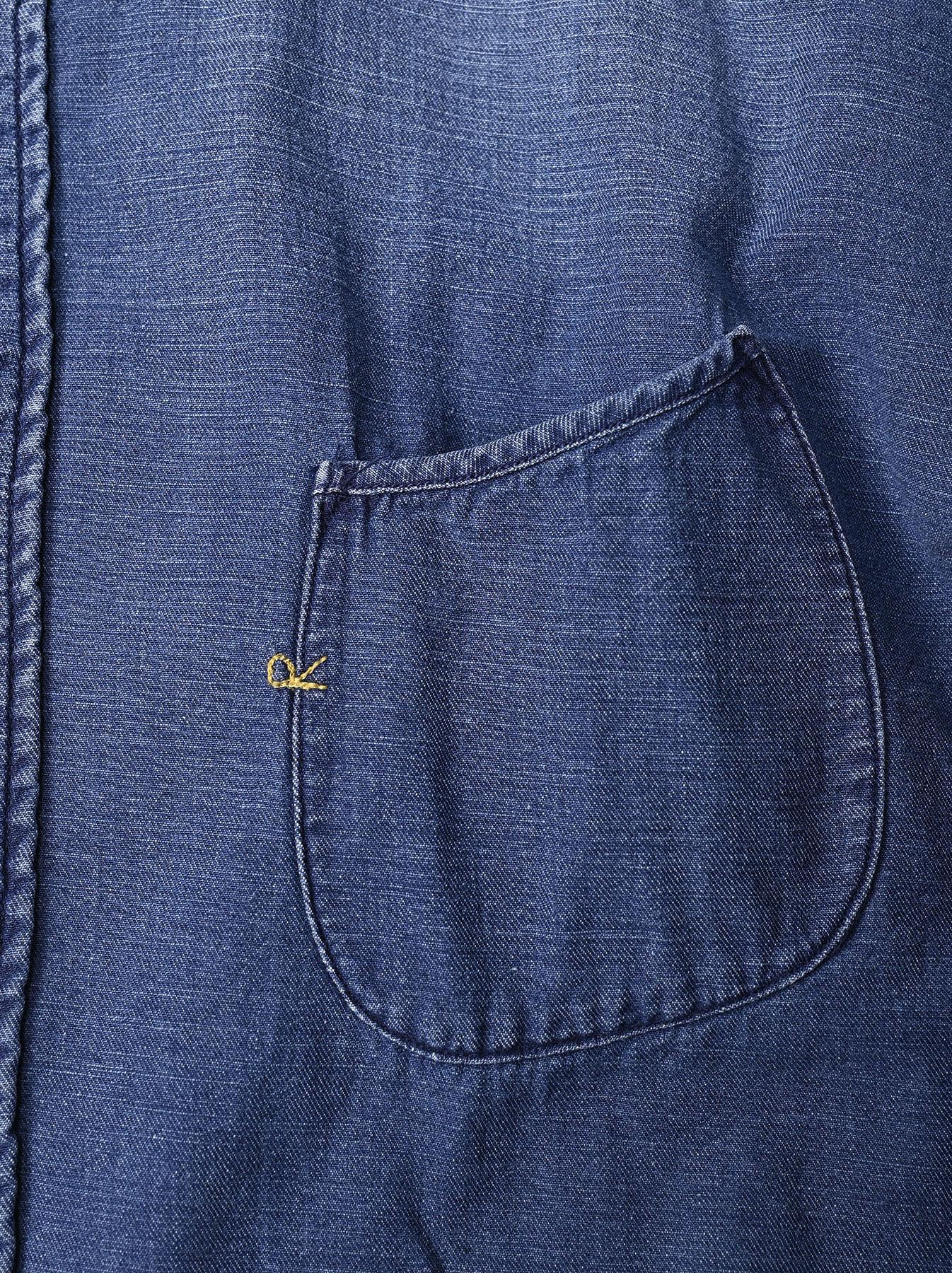 Goma Denim Ocean Button Down Shirt-9