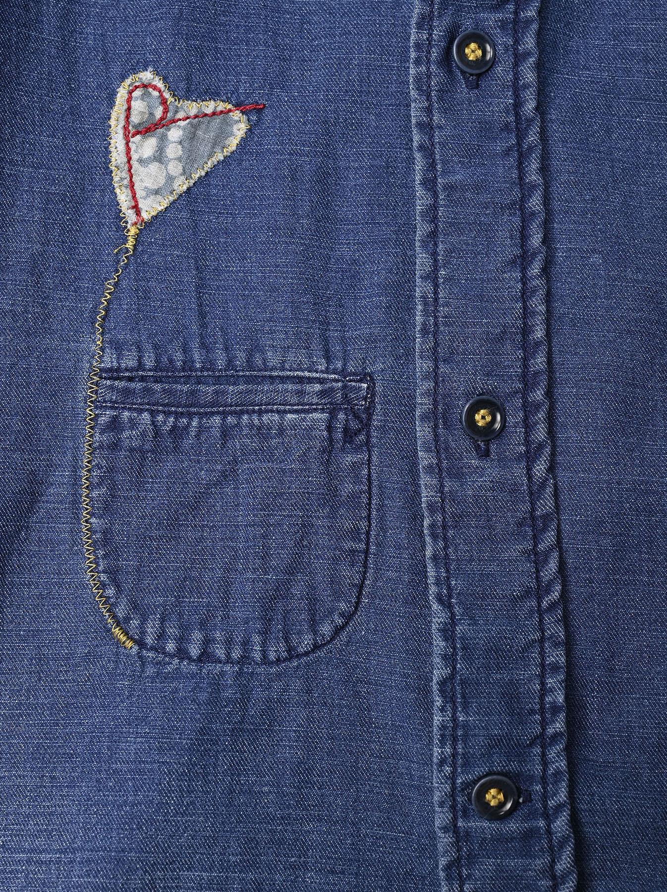 Goma Denim Ocean Button Down Shirt-10