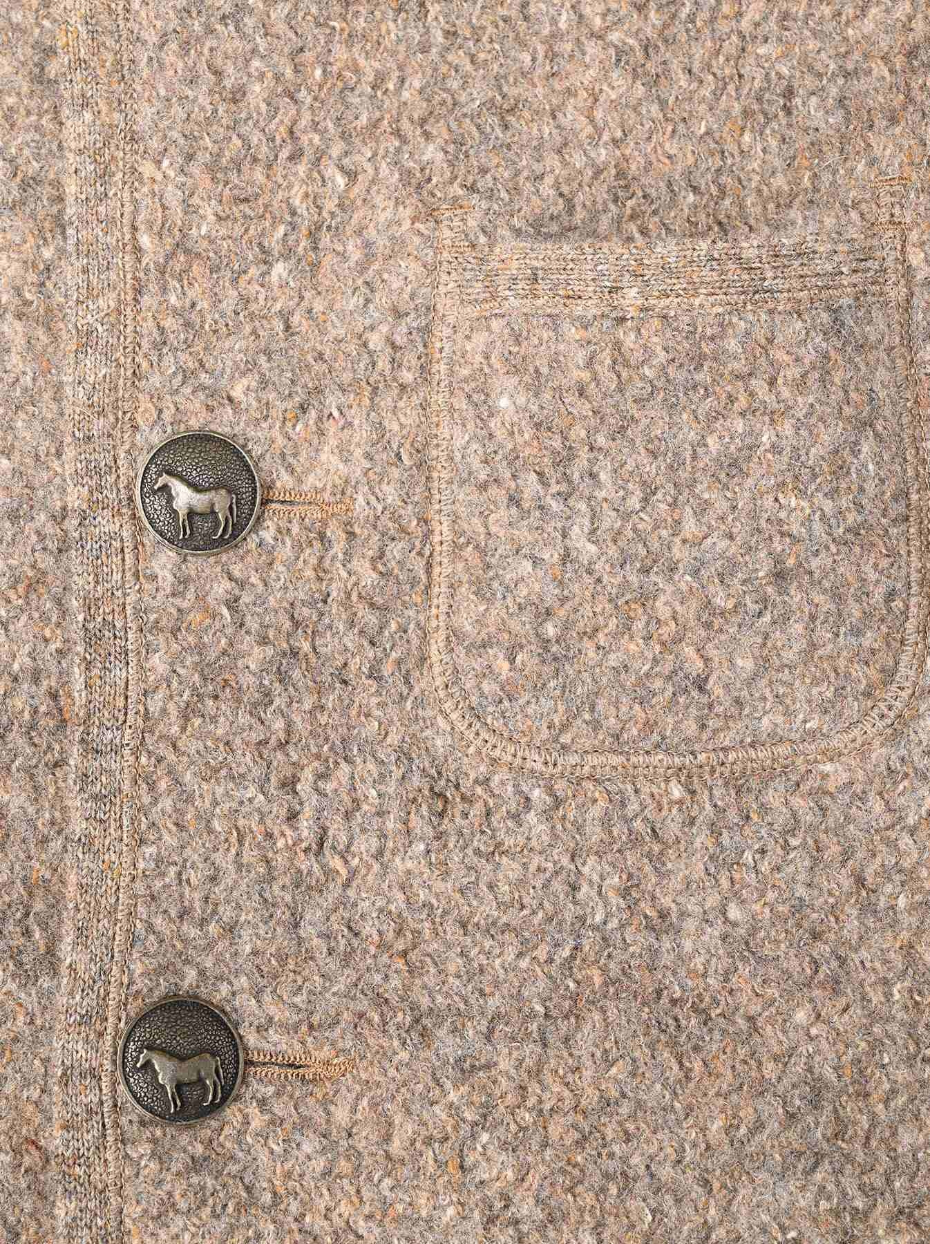 Cotton Shetland 908 Tyrolean Jacket-7