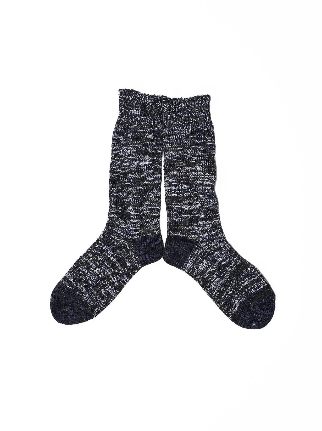 Indigo Mokumoku Socks-2