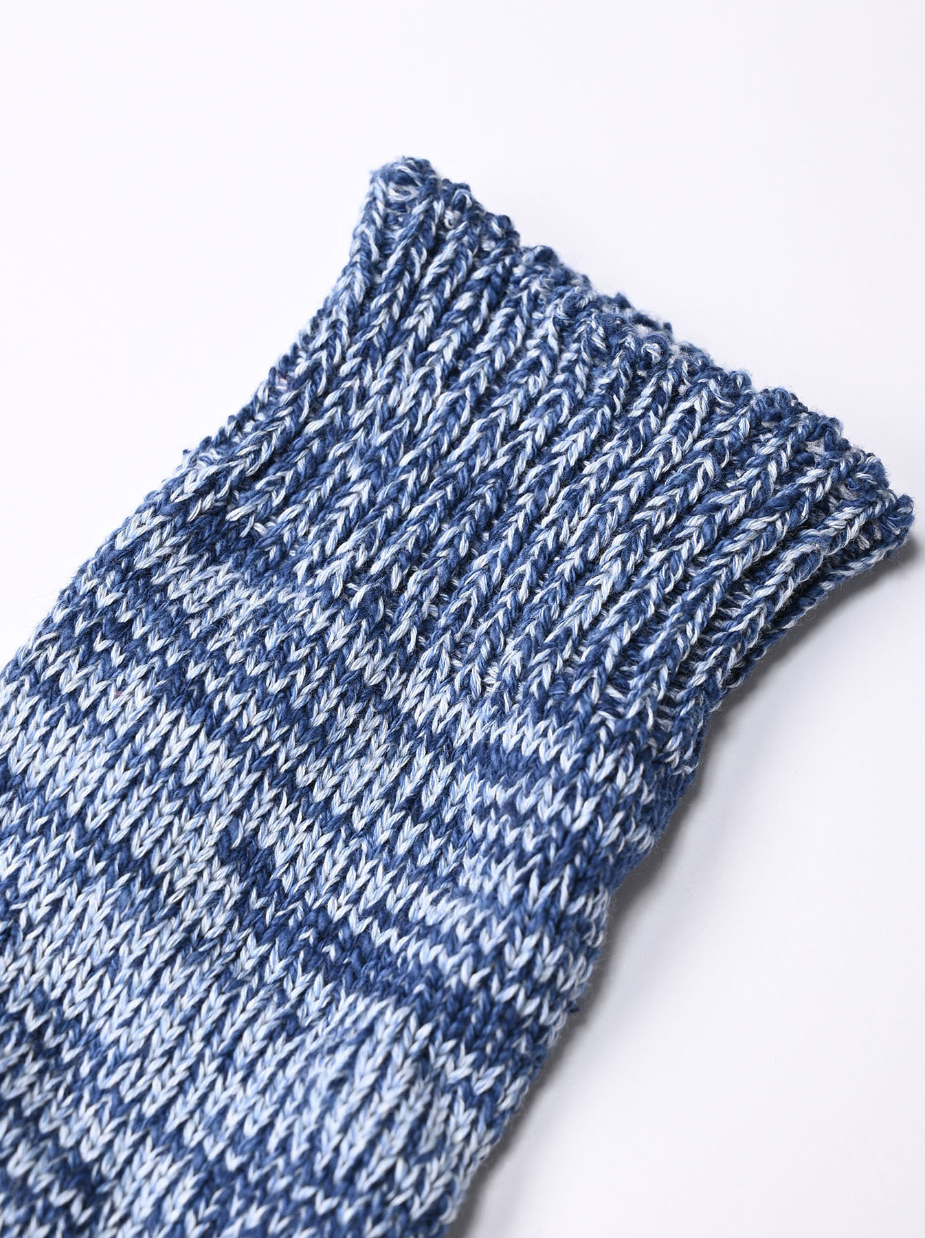 Indigo Mokumoku Socks-3