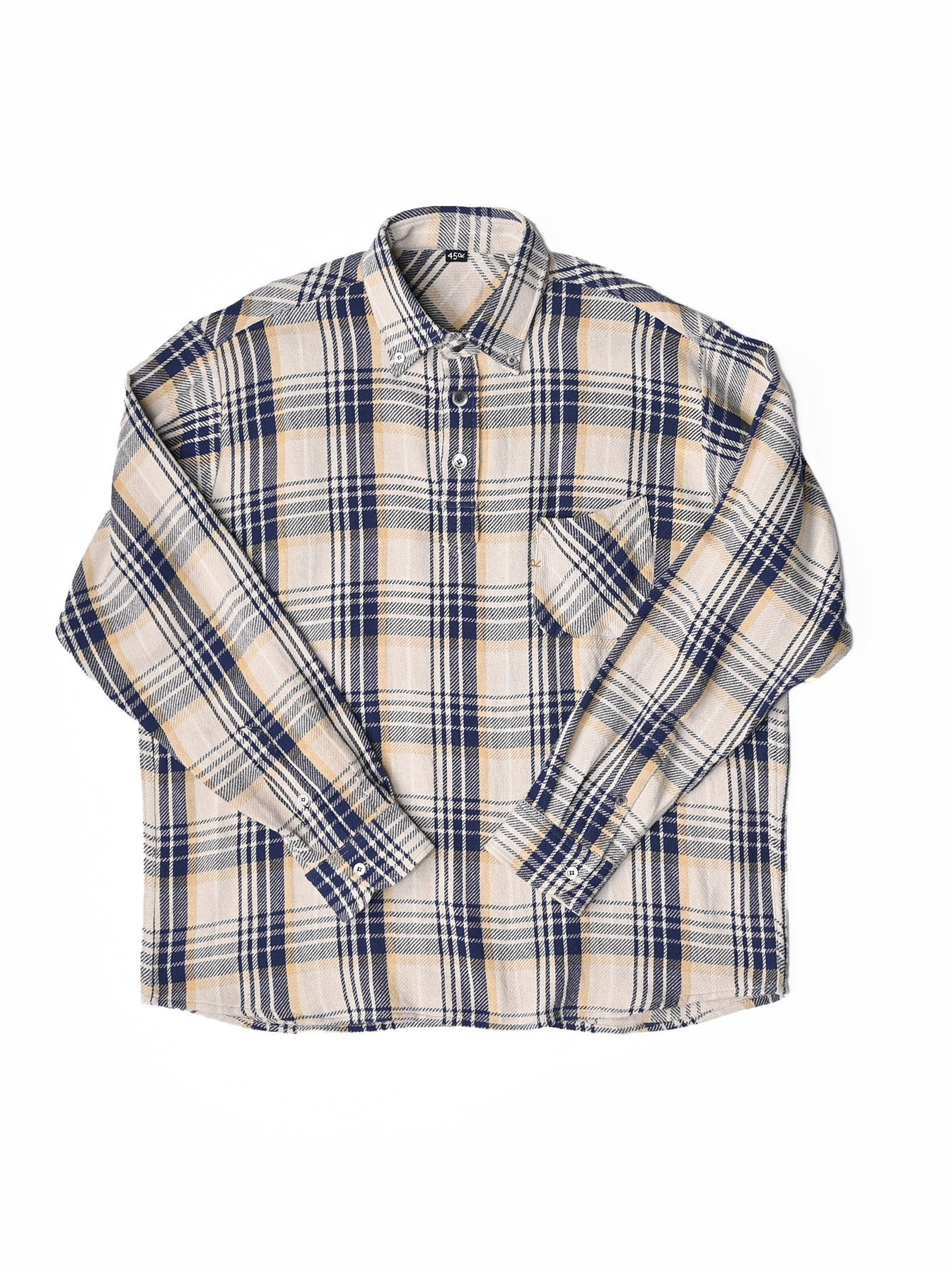 Indian Flannel Ocean Shirt-1