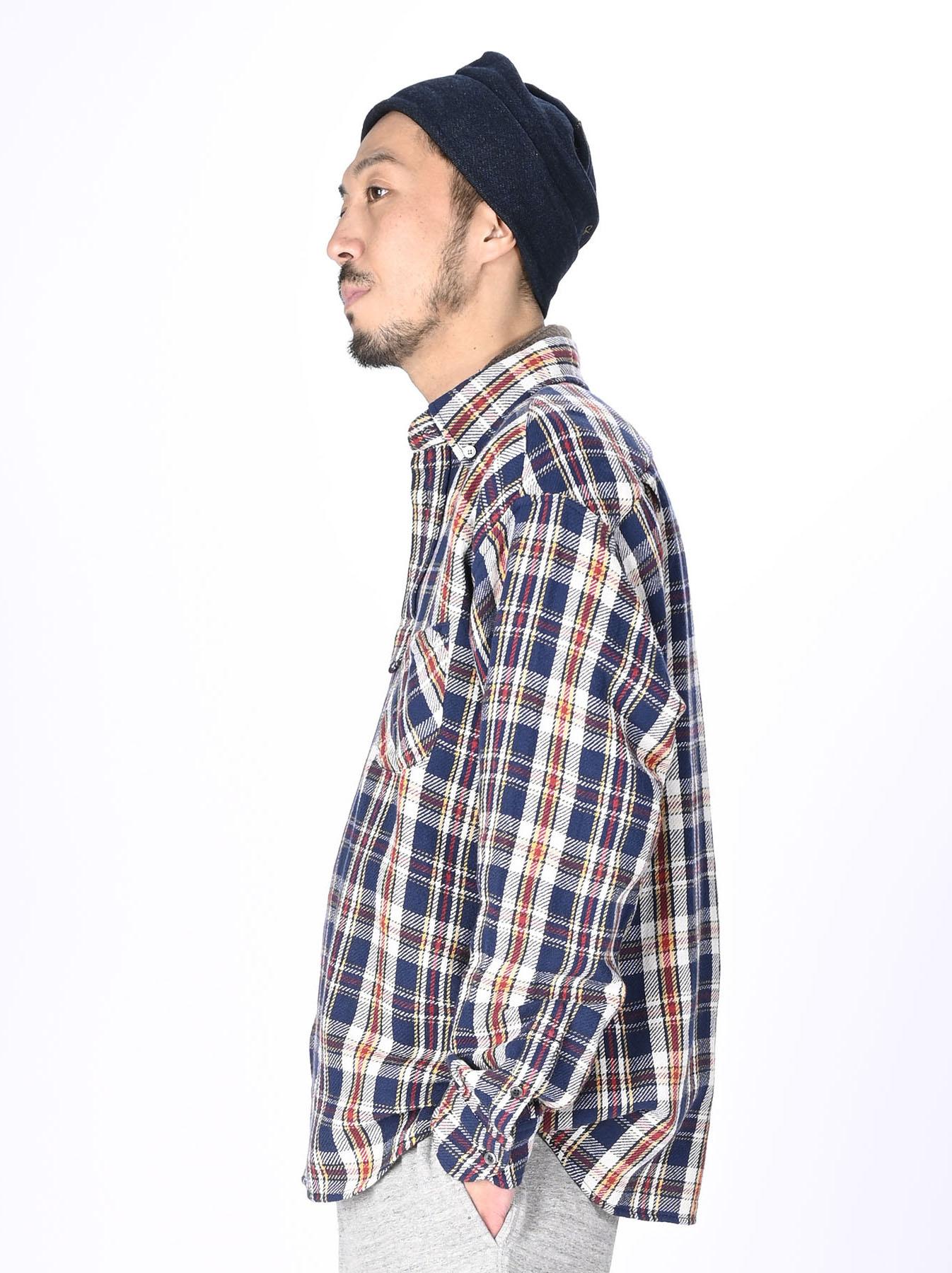 Indian Flannel Ocean Shirt-11
