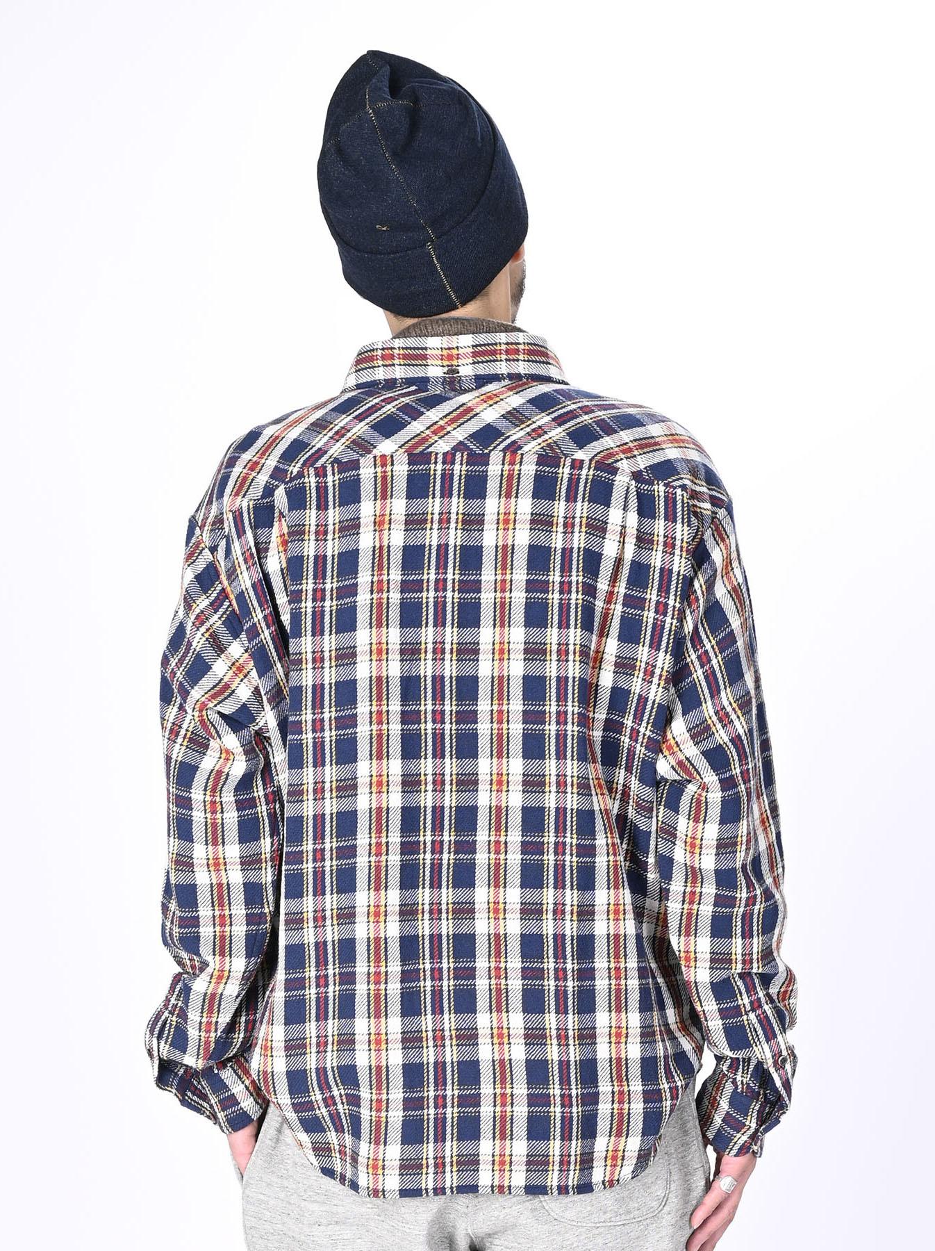 Indian Flannel Ocean Shirt-12