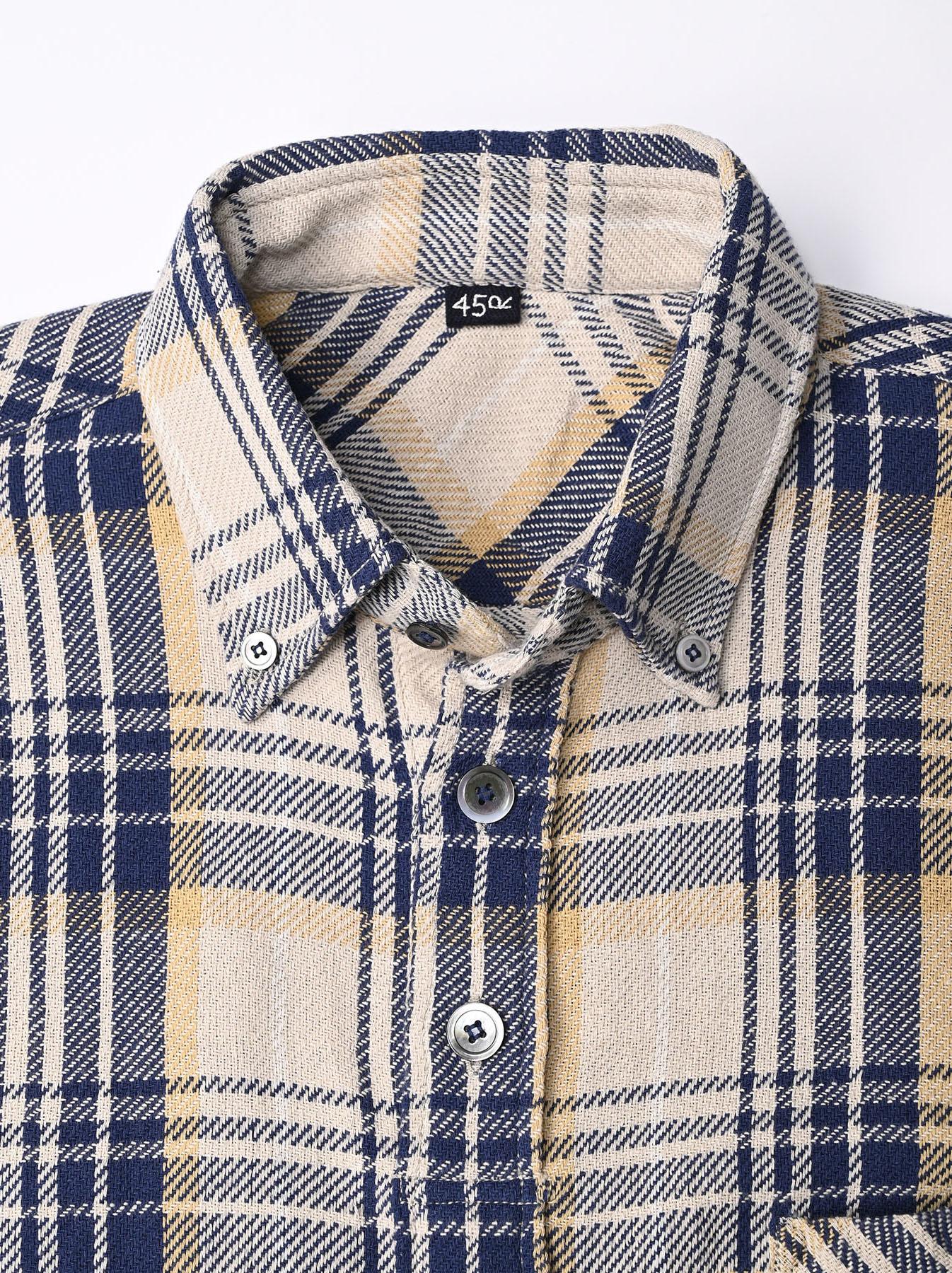 Indian Flannel Ocean Shirt-5