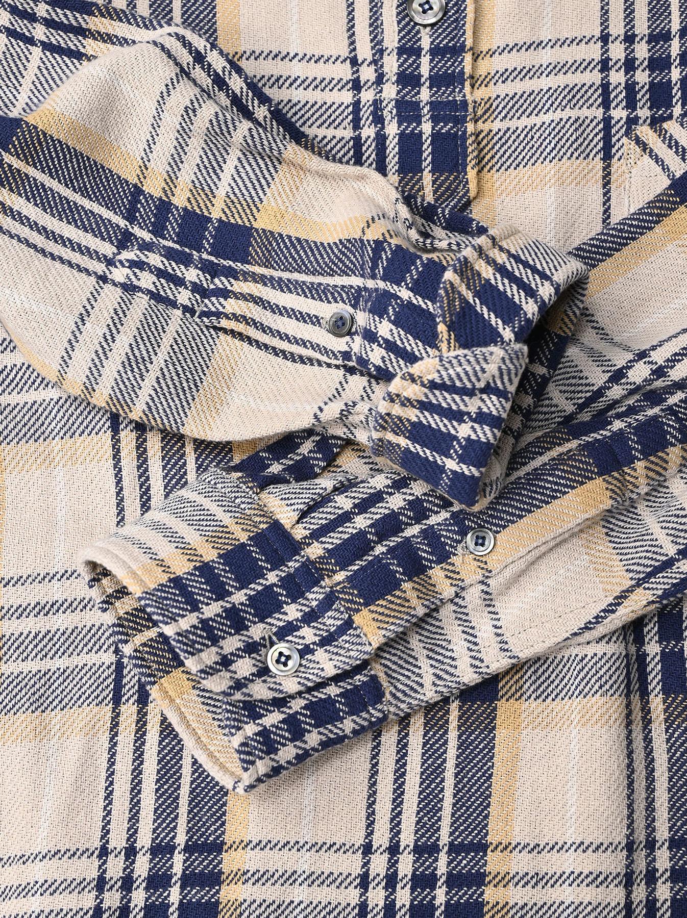 Indian Flannel Ocean Shirt-8