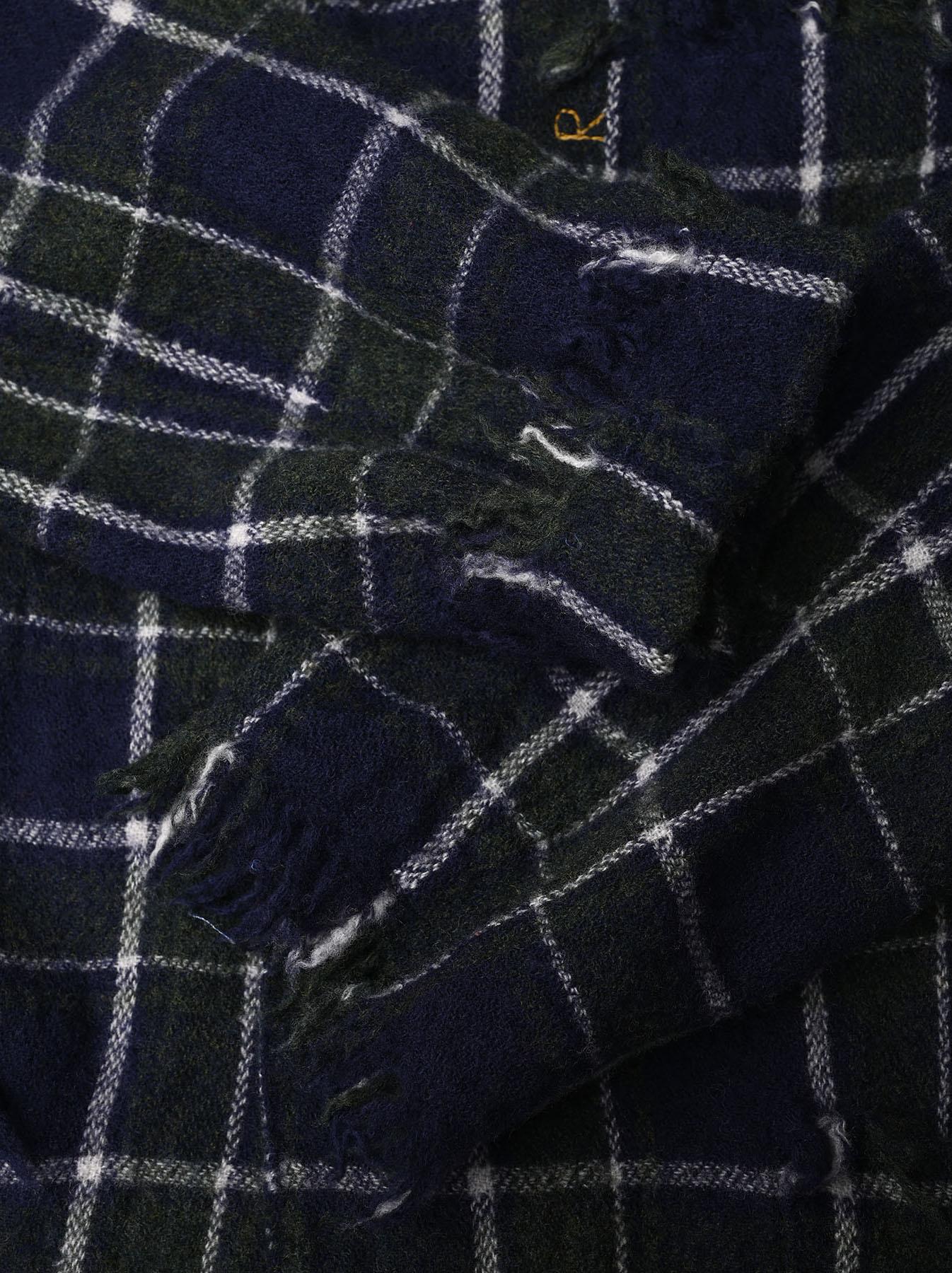 Indian Boiled Merino Check Jacket-8