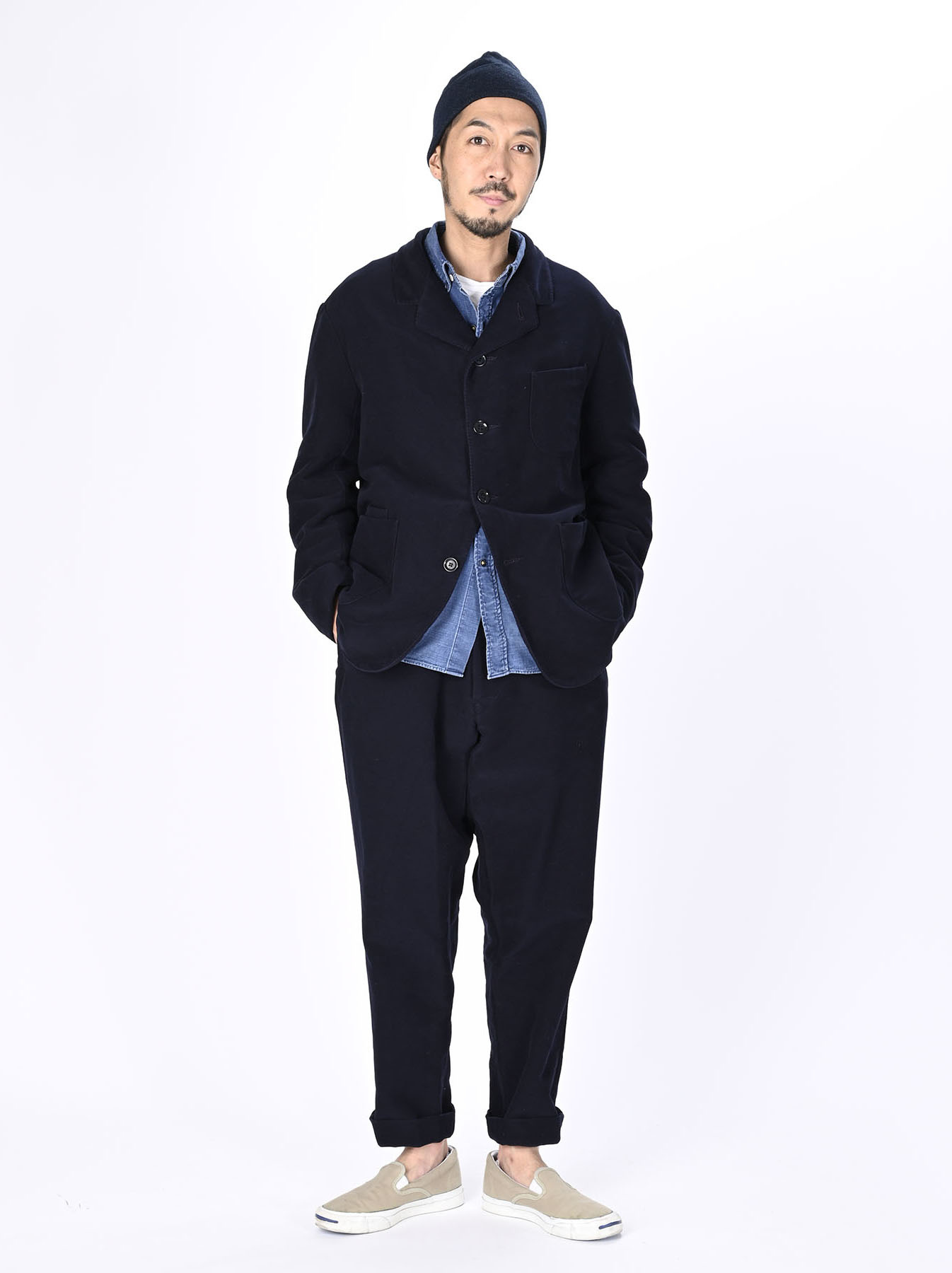 Thick Cotton Flannel Poppo Jacket-2