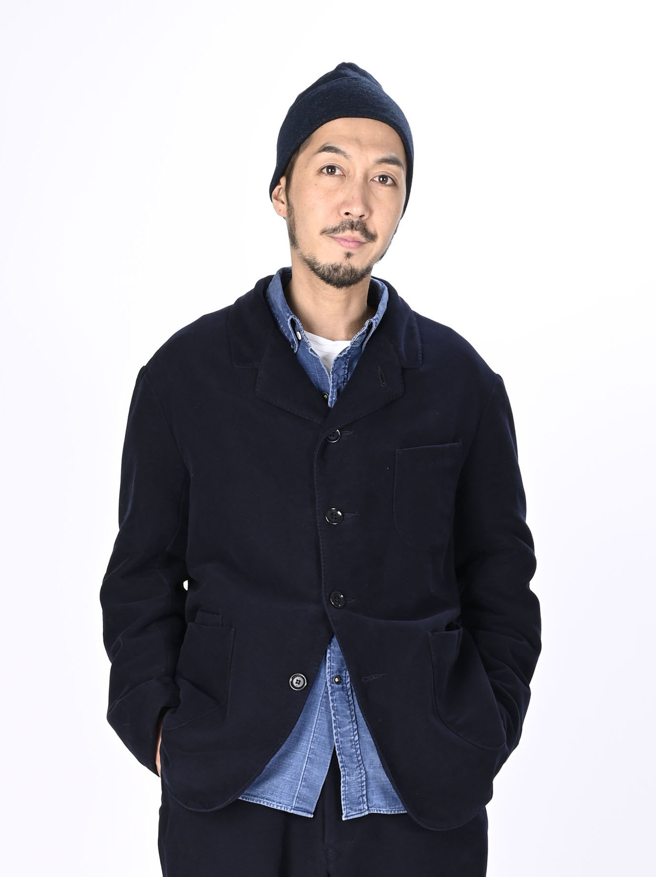 Thick Cotton Flannel Poppo Jacket-10
