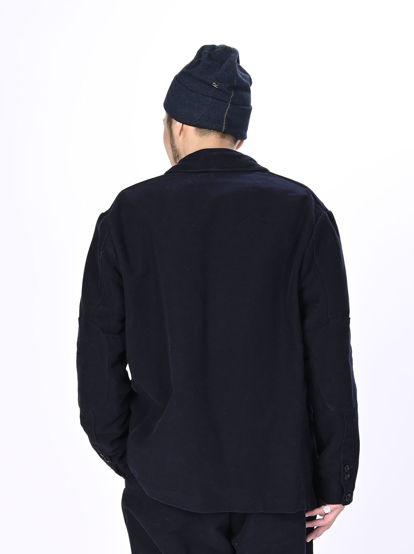 Thick Cotton Flannel Poppo Jacket-11