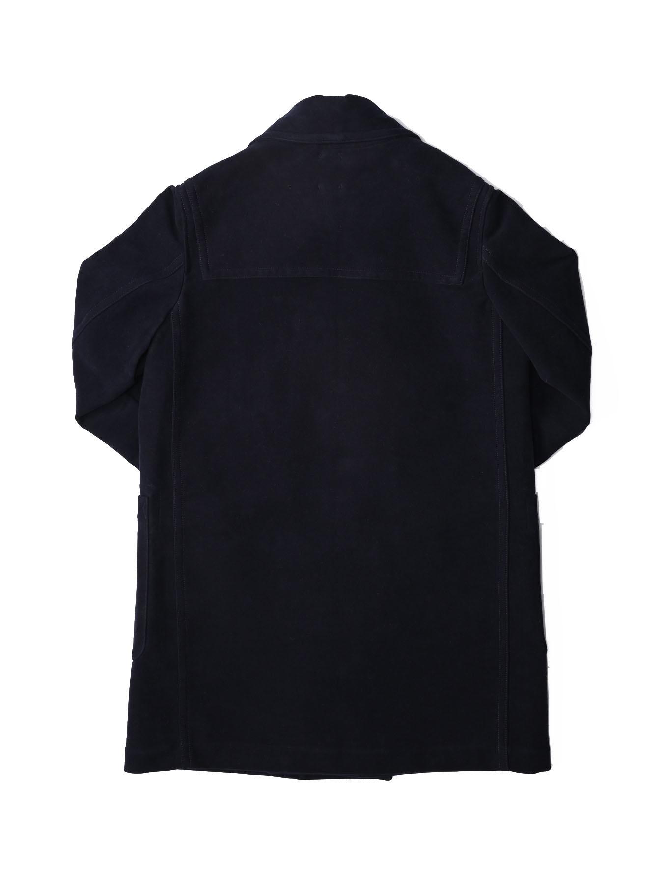 Thick Cotton Flannel Hayama Duffle Coat-3