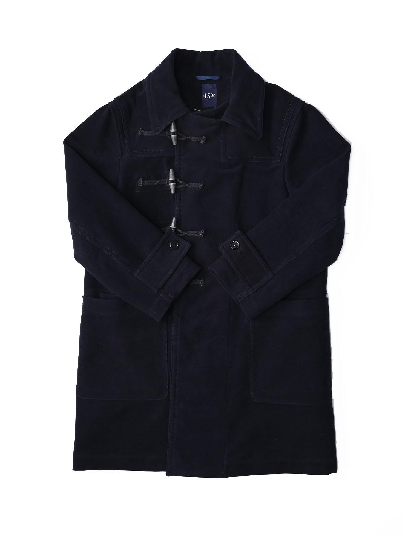Thick Cotton Flannel Hayama Duffle Coat-1