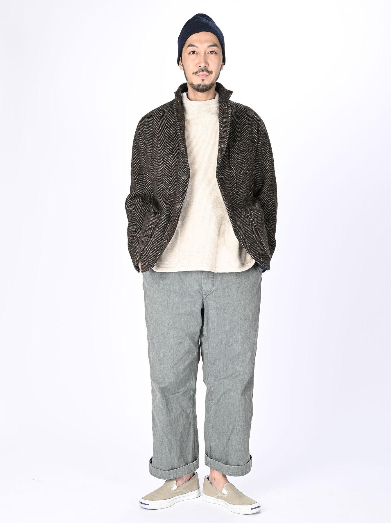 Tweed Melton Asama Jacket-2
