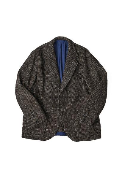 Tweed Melton Asama Jacket