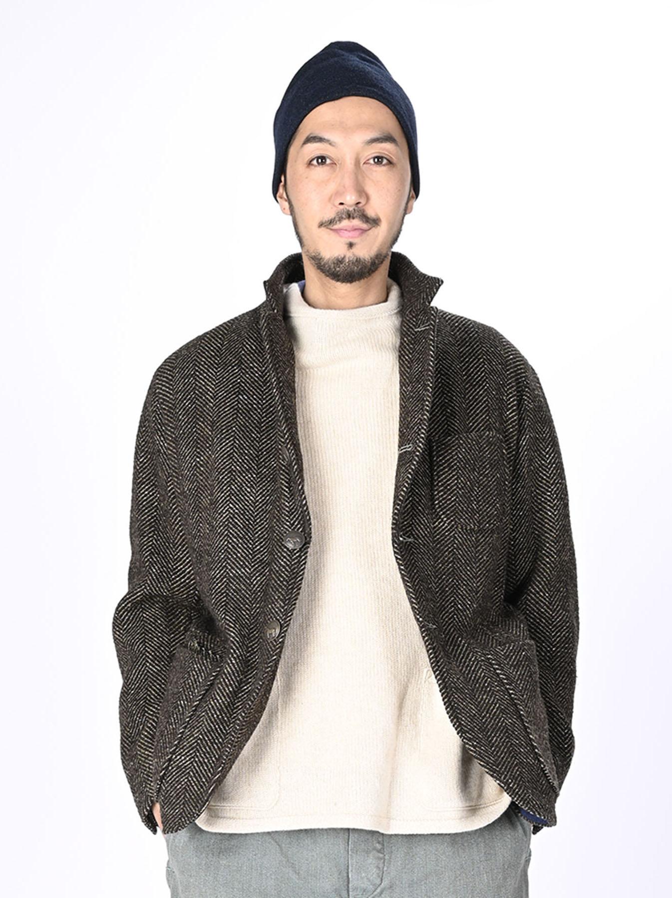 Tweed Melton Asama Jacket-4