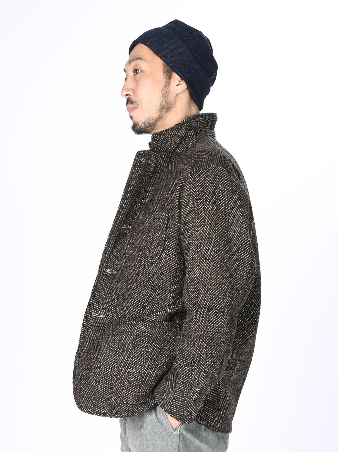 Tweed Melton Asama Jacket-5