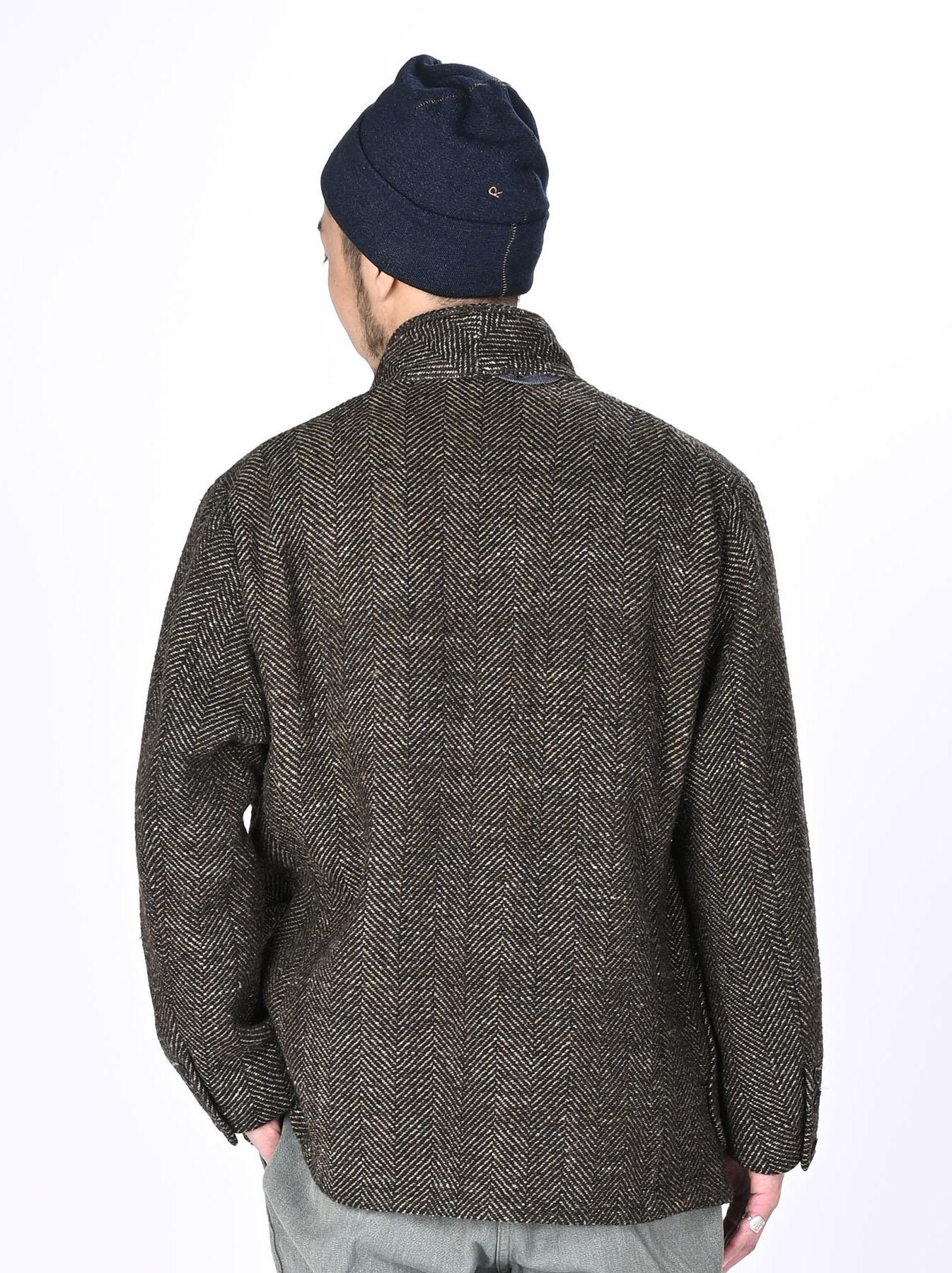 Tweed Melton Asama Jacket-6