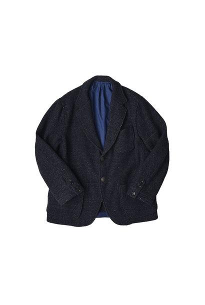 Indigo Tweed Melton Asama Jacket