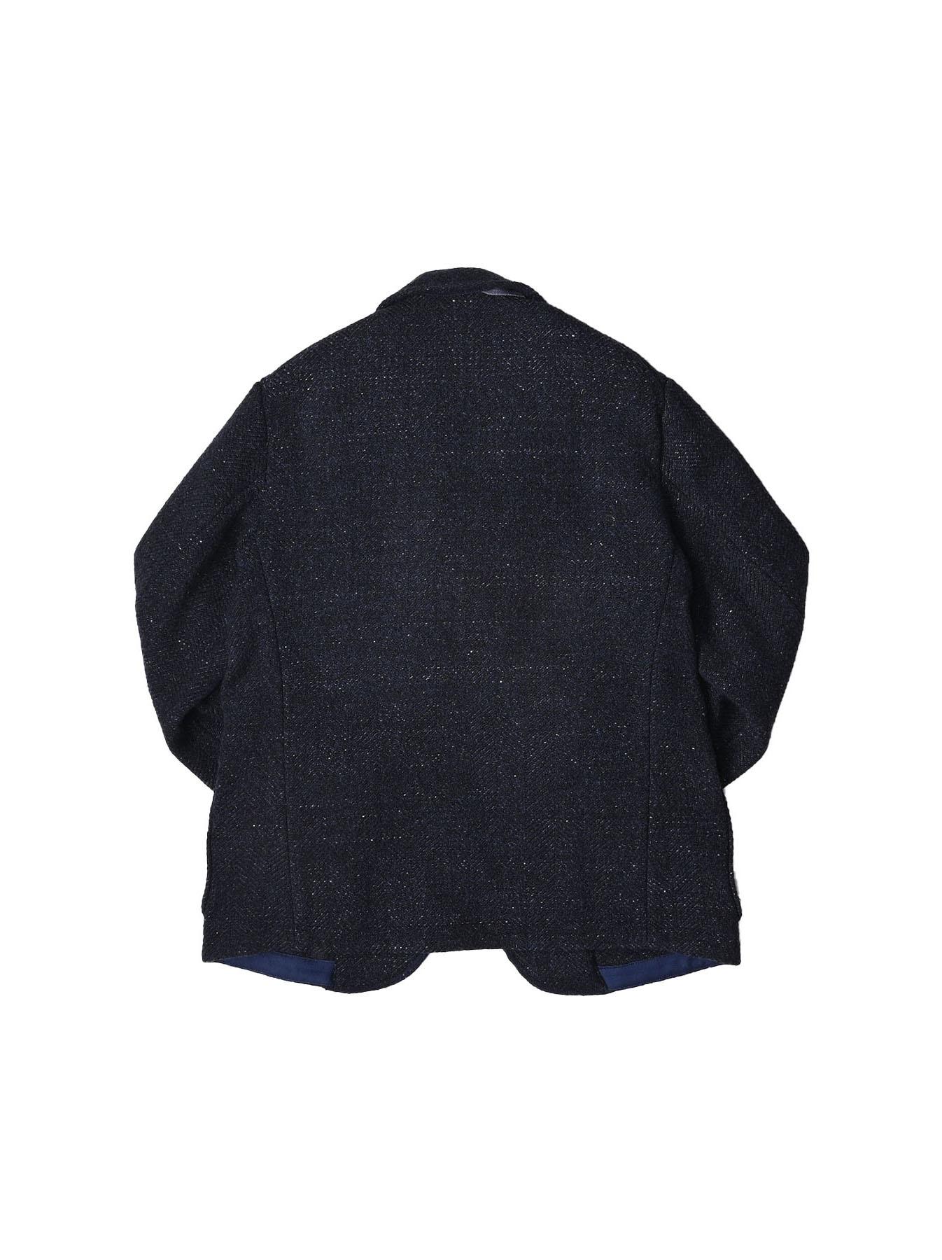 Indigo Tweed Melton Asama Jacket-3